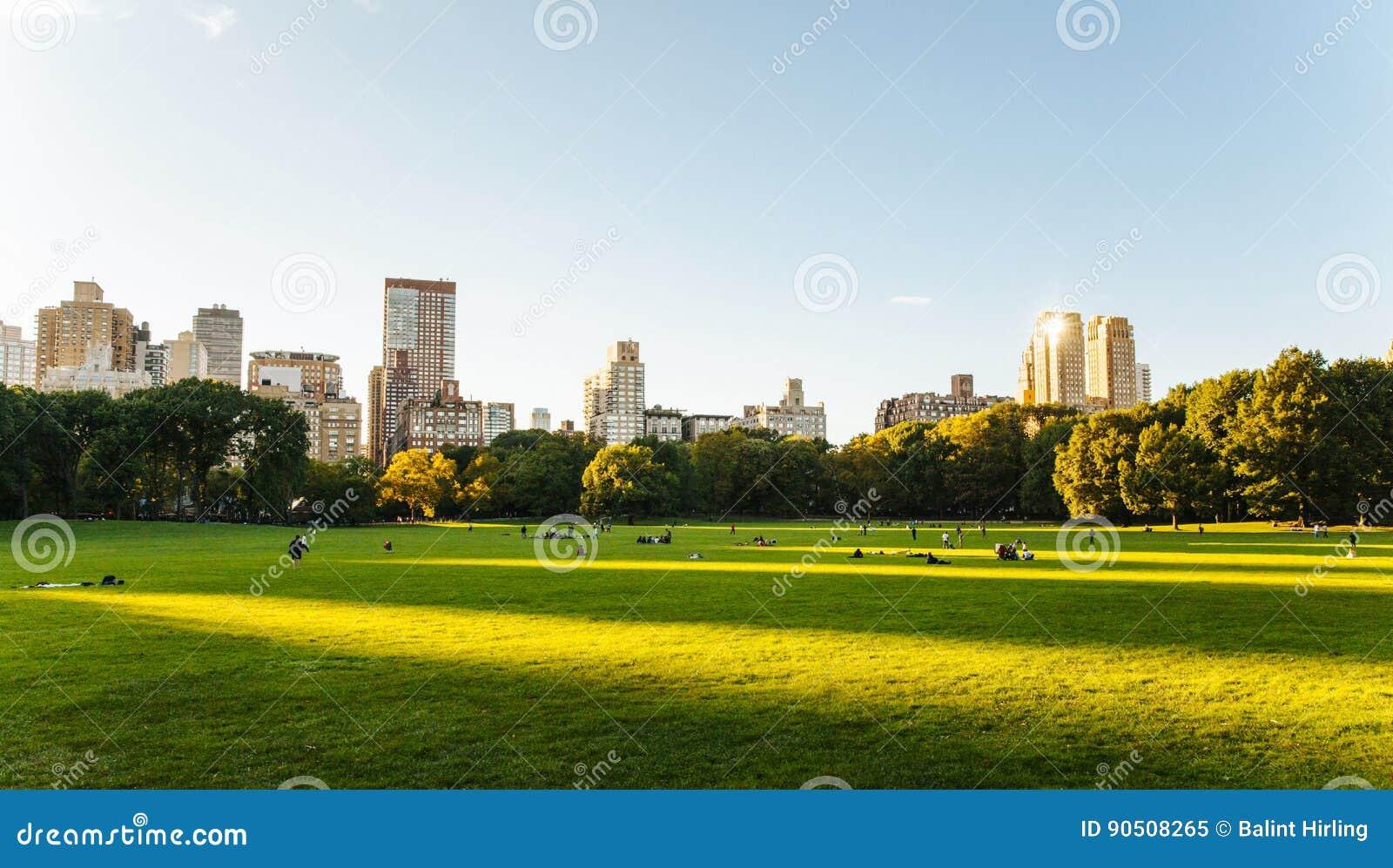 Het Central Parkleven in New York