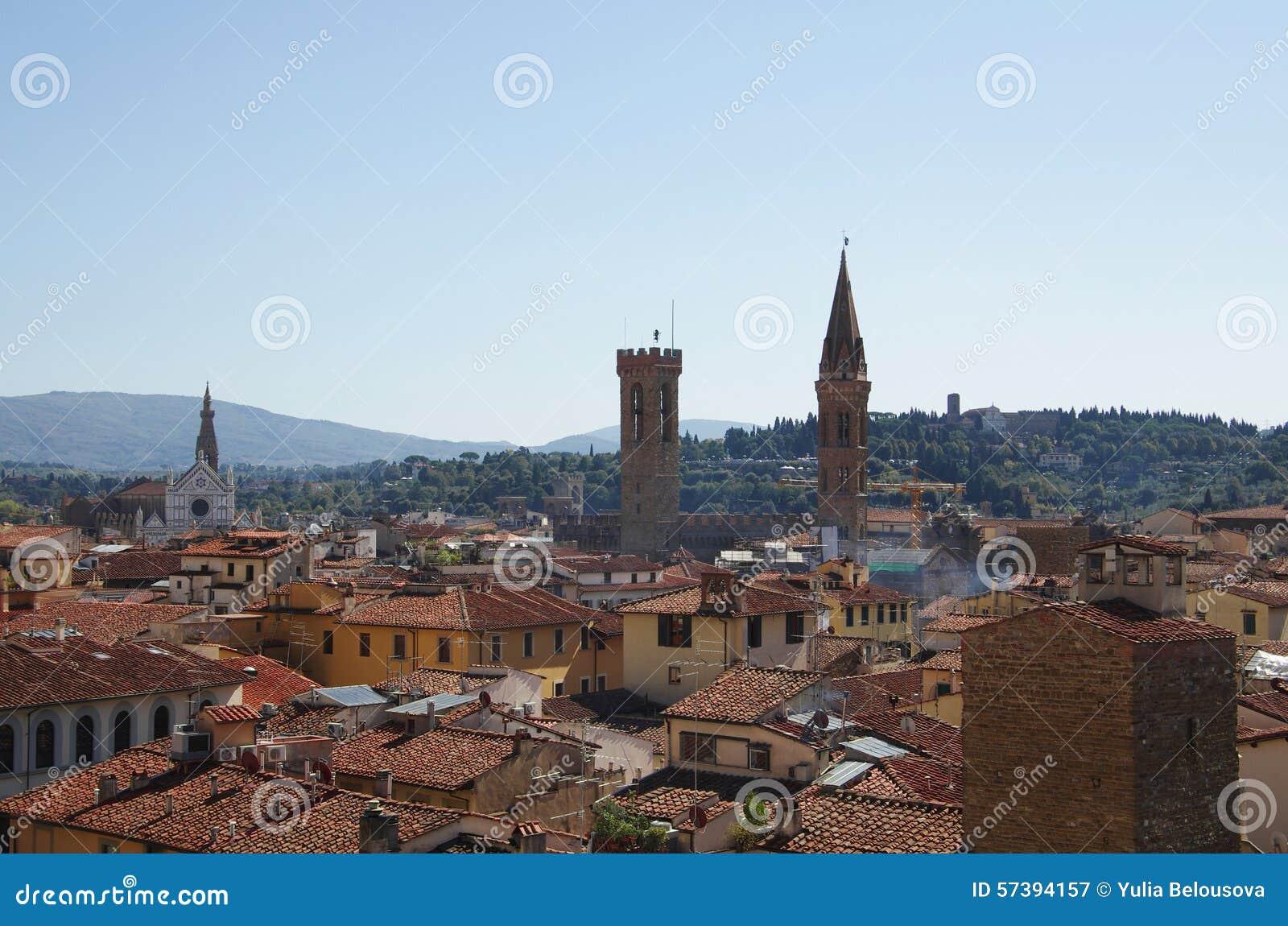 Het centrum van Florence