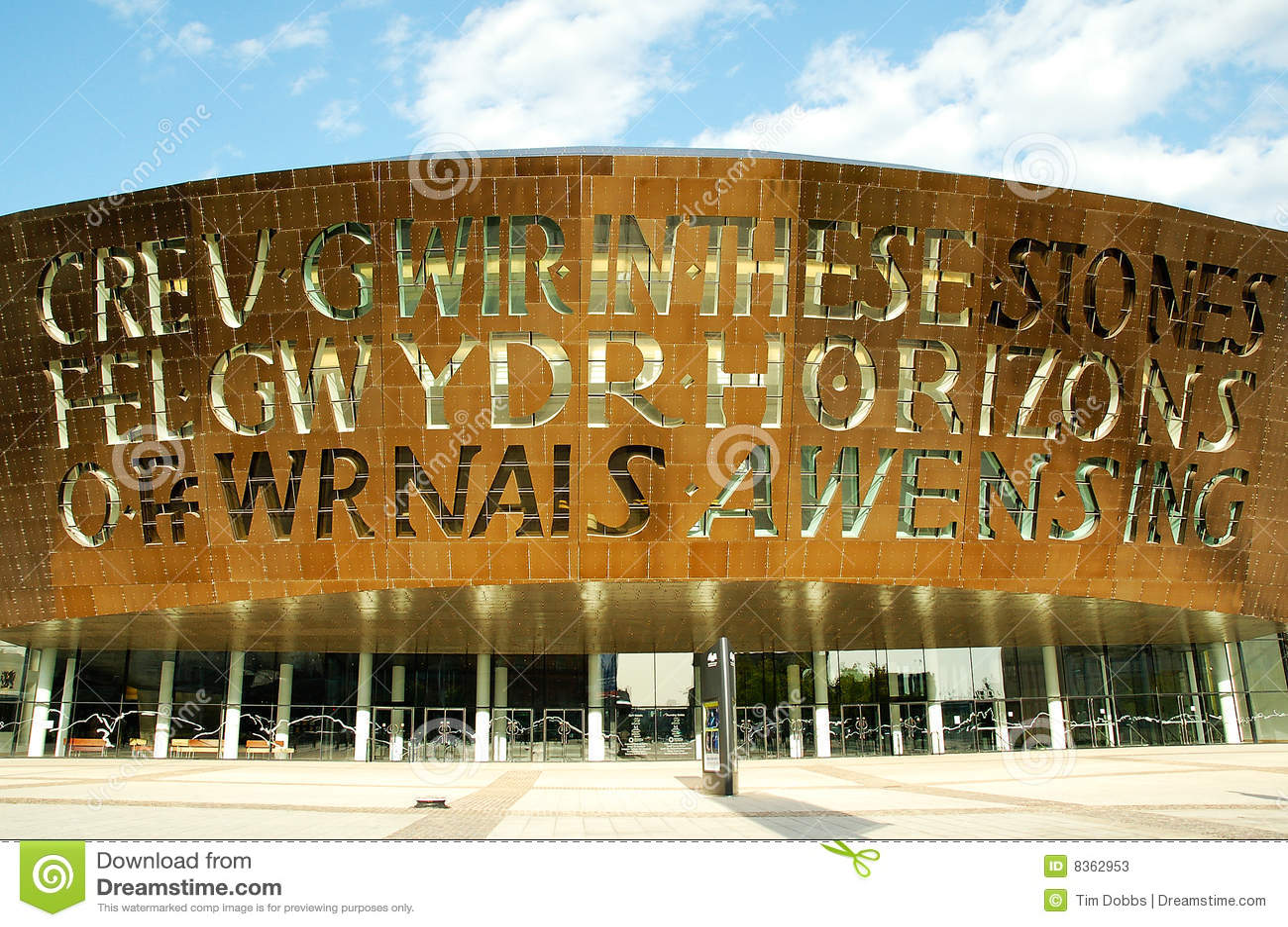 Het Centrum van het Millennium van Wales