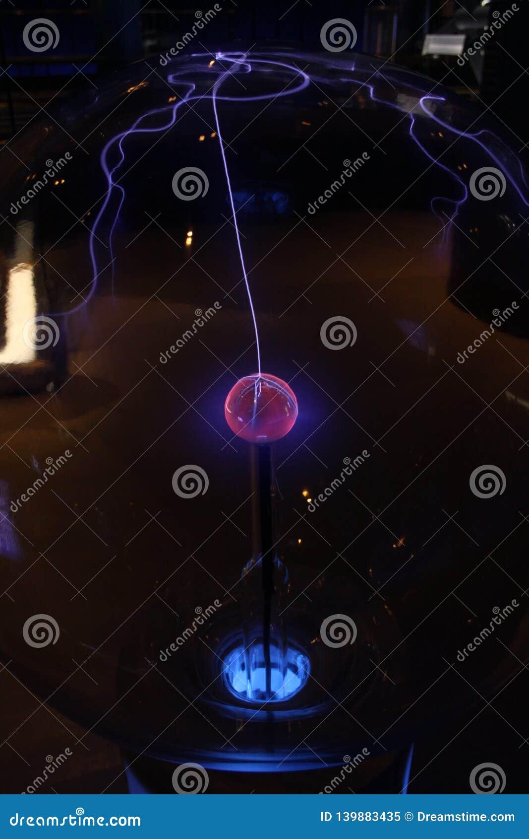 Het centrum van het plasmagebied