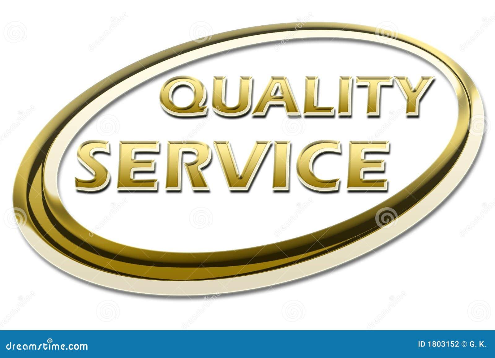 Het Certificaat van de Dienst van de kwaliteit