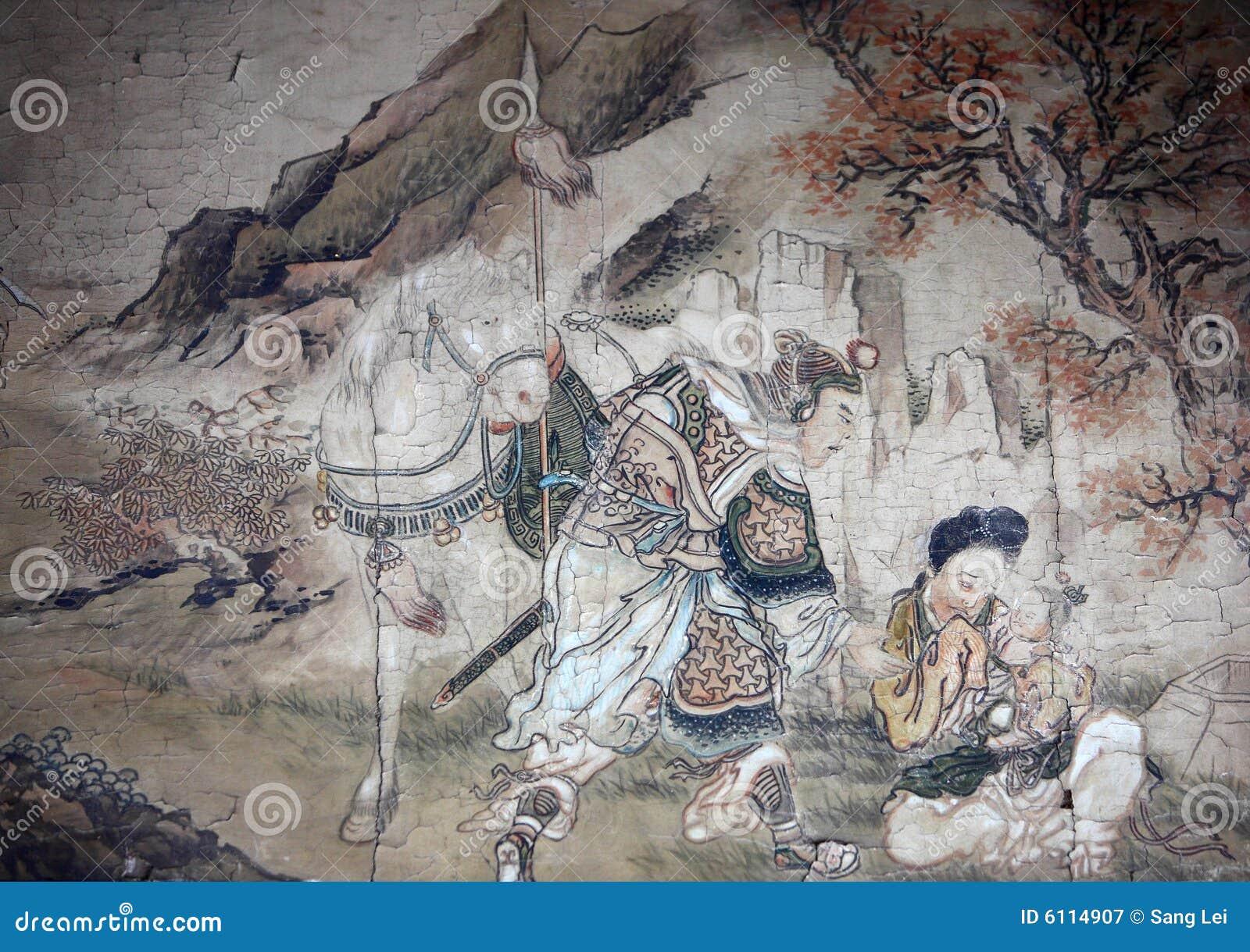 Het Chinese klassieke schilderen