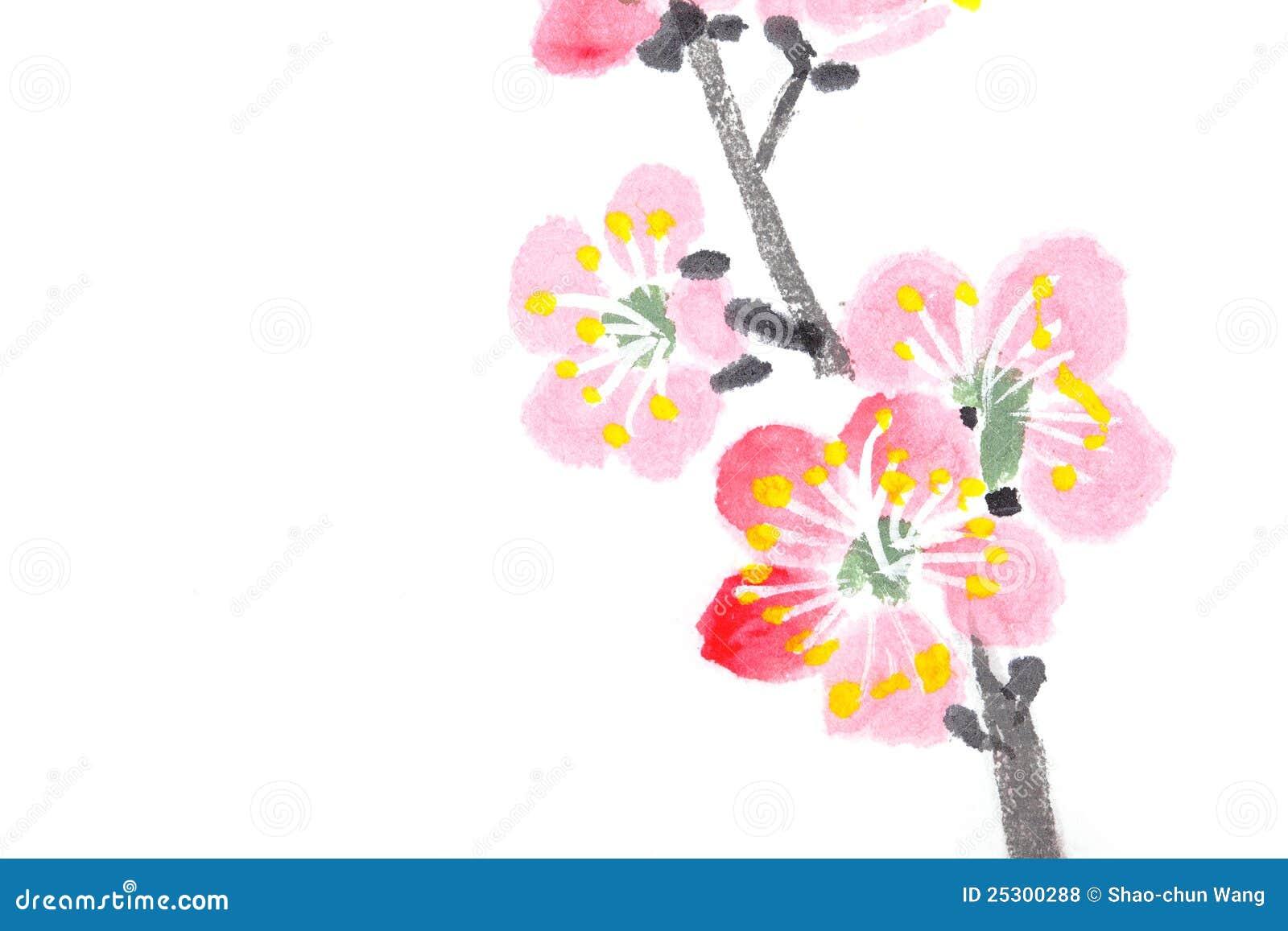 witte achtergrond tekening bloemen - photo #48