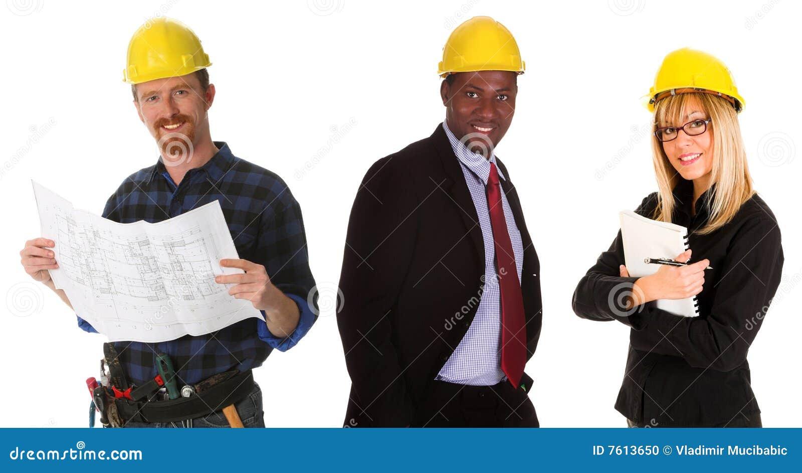Het commerciële teamwerk