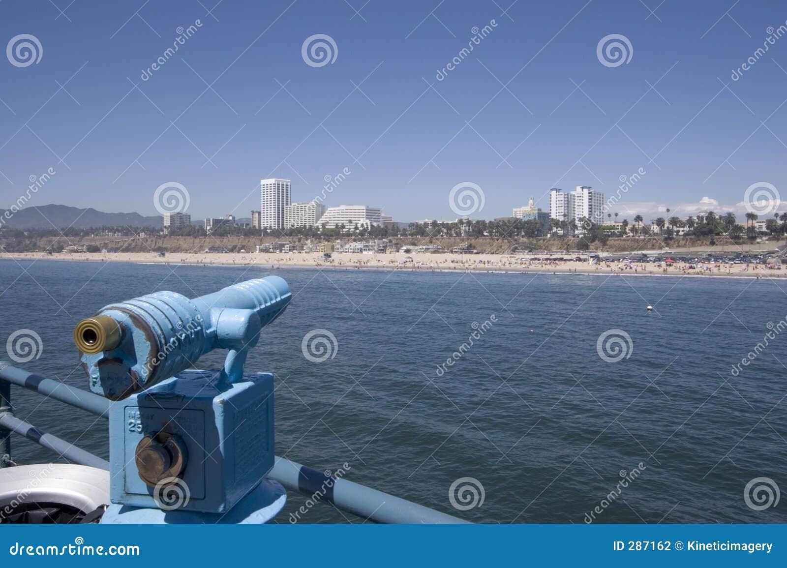 Het concentreren zich op het strand