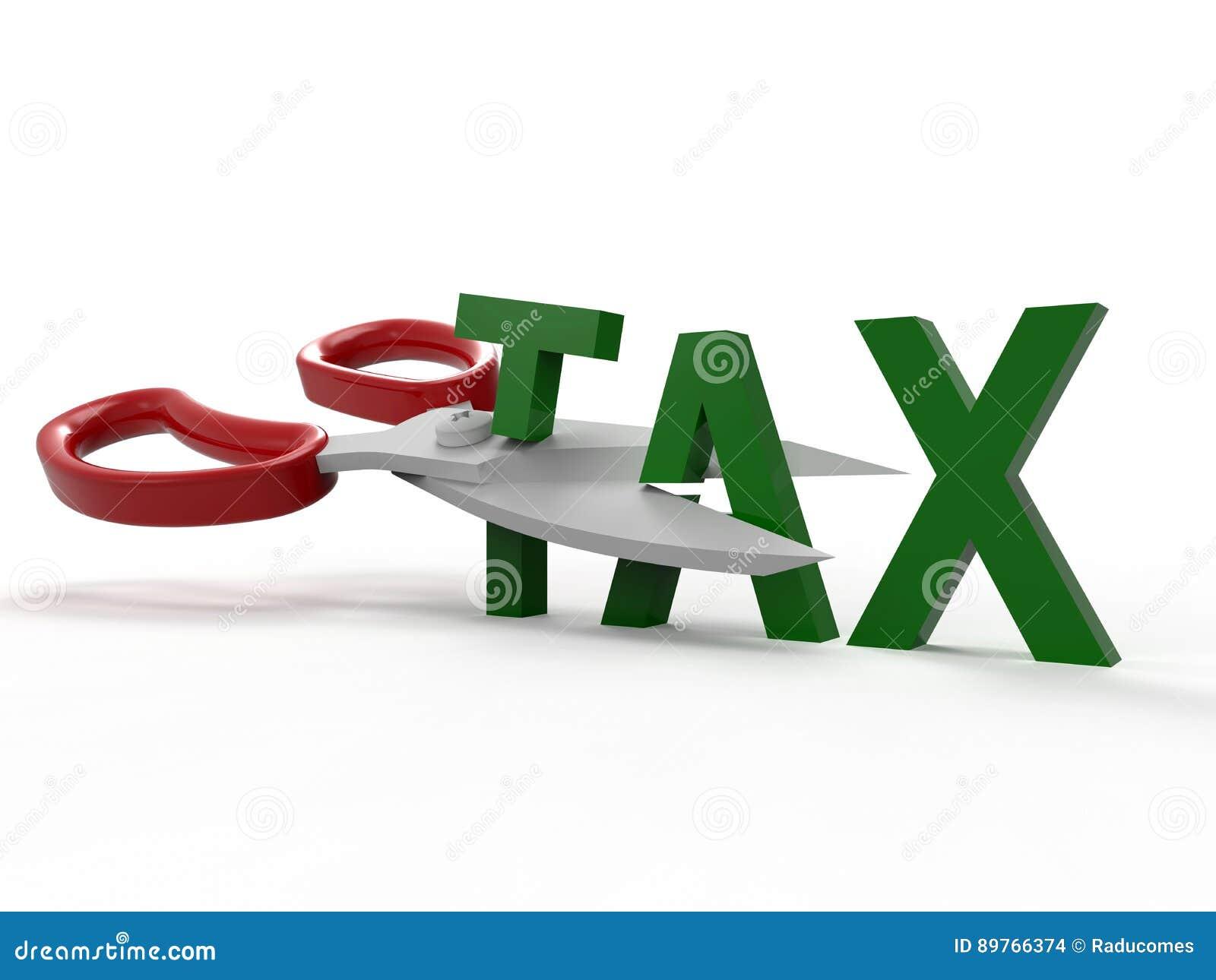 Het concept van besnoeiingsbelastingen