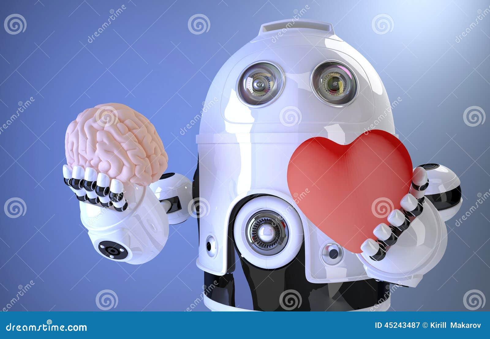 Het concept van de kunstmatige intelligentie Bevat het knippen weg