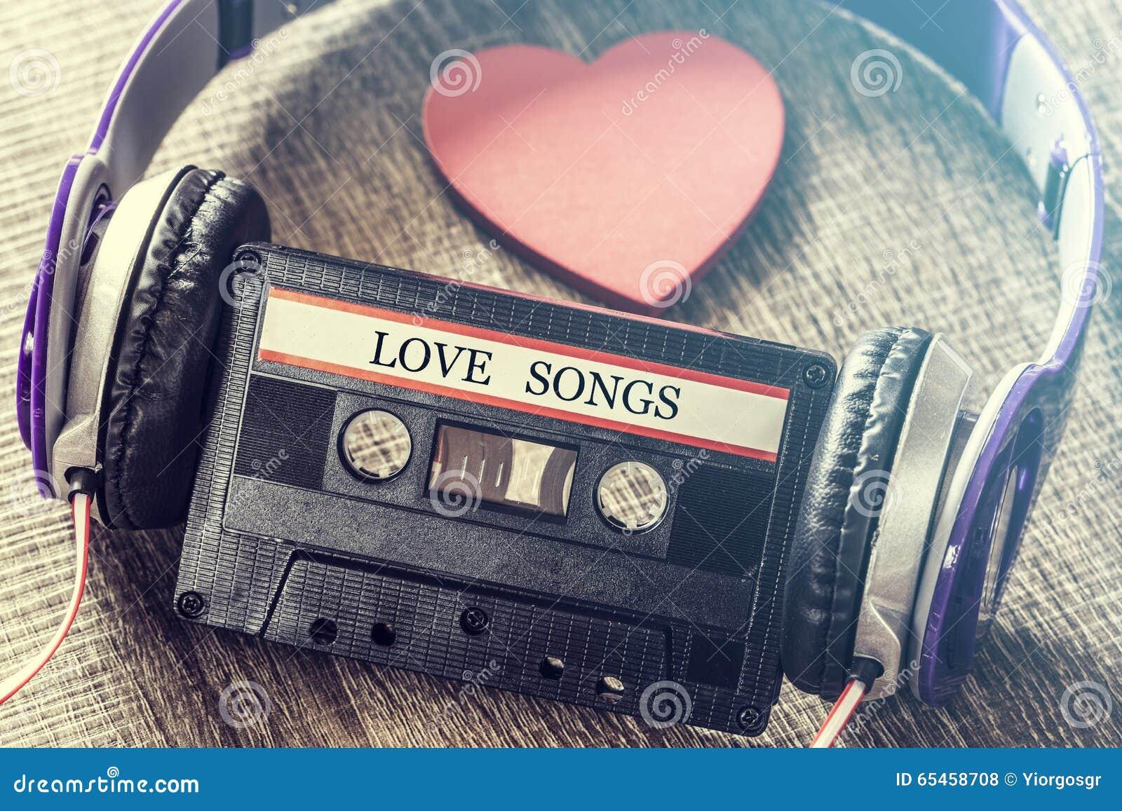 Het concept van de liefdemuziek