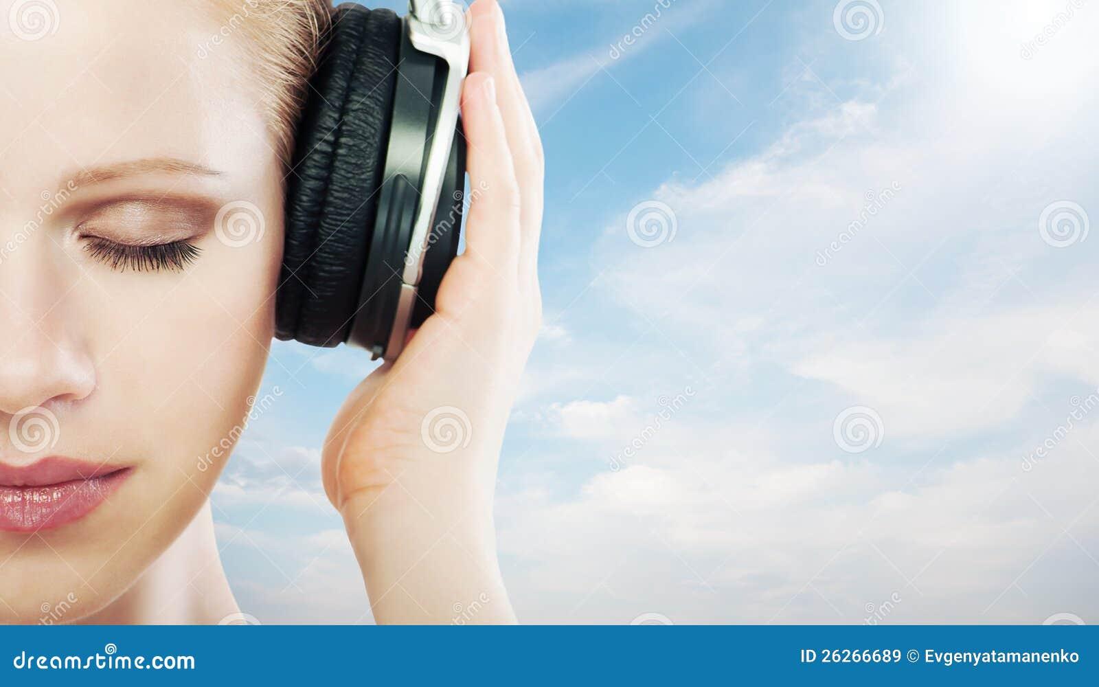 Het concept van de muziek.
