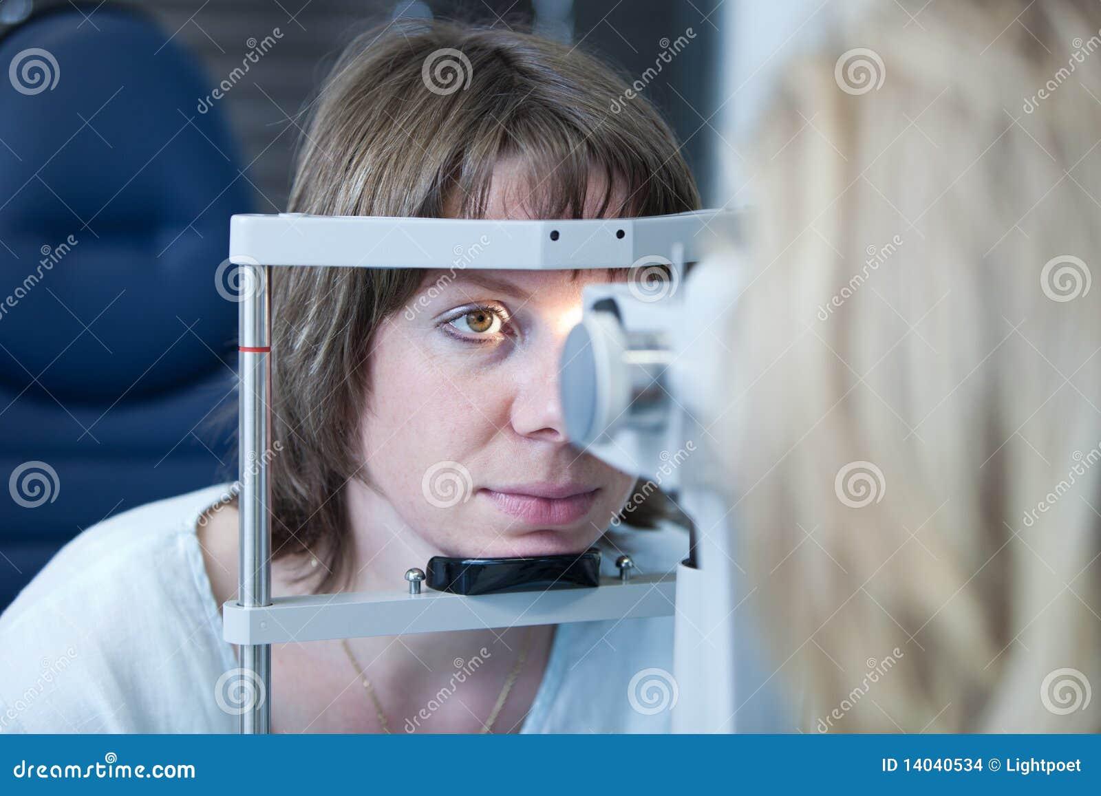 Het concept van de optometrie