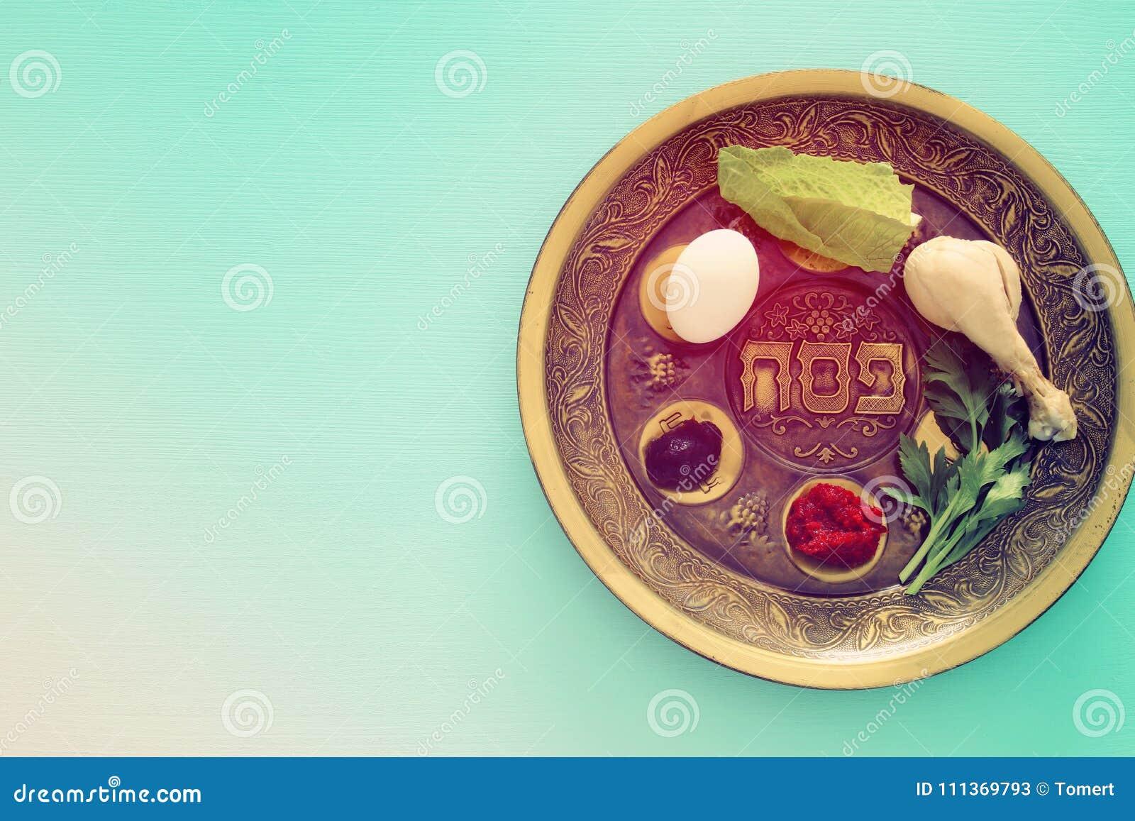 Het concept & x28 van de Pesahviering; Joodse Pascha holiday& x29;