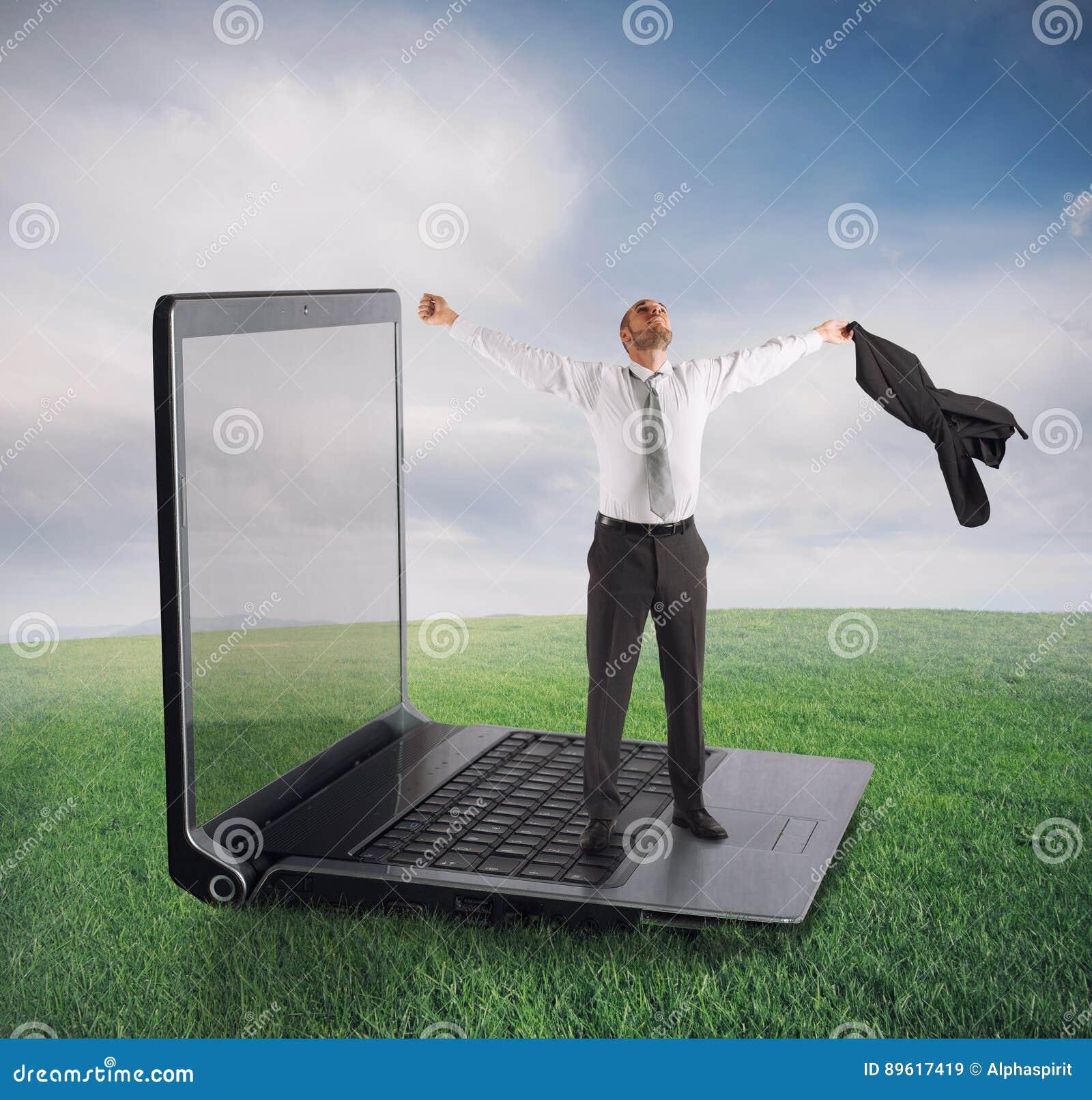 Het concept van de technologieverslaving
