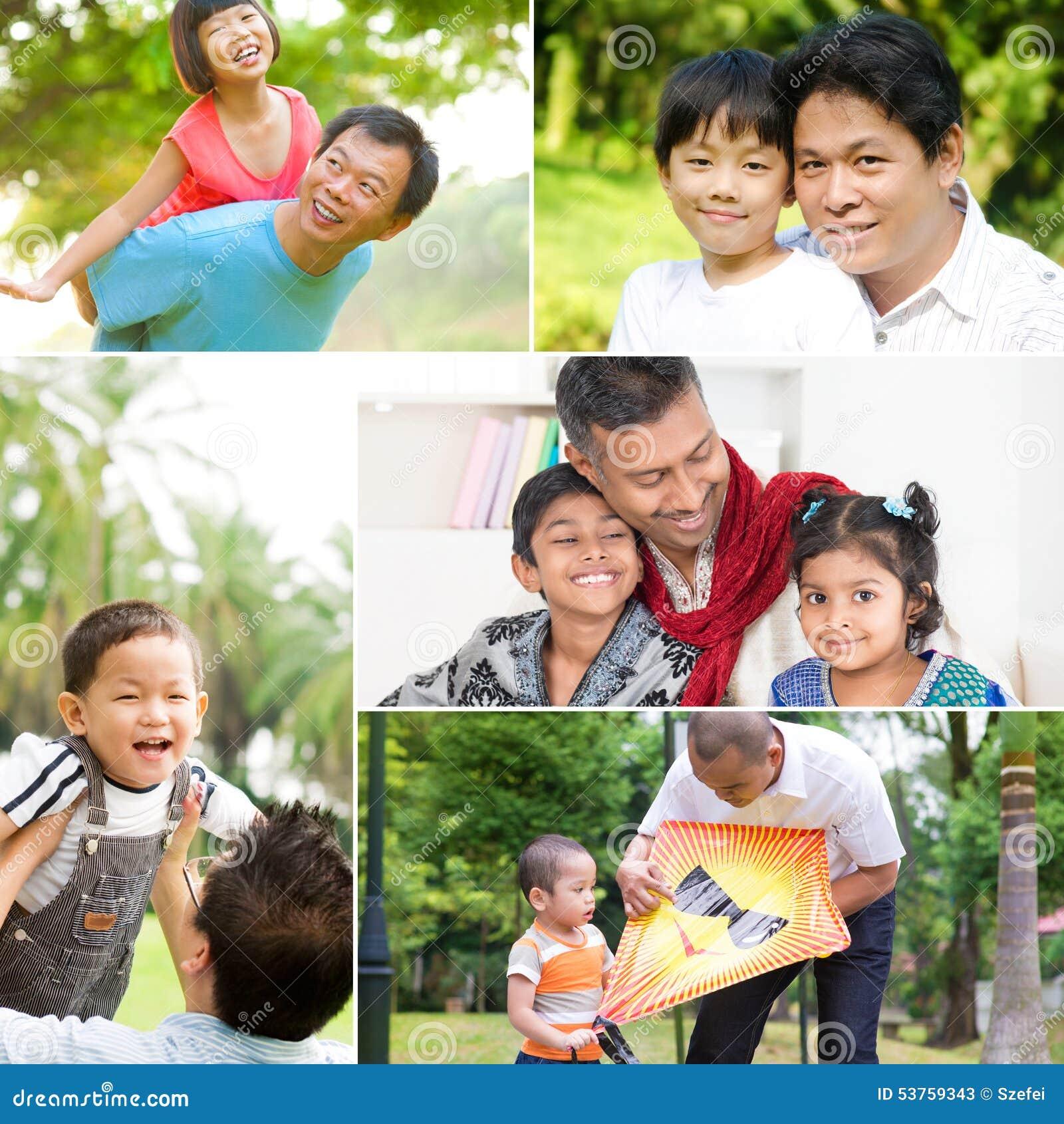 Het concept van de vaderdag