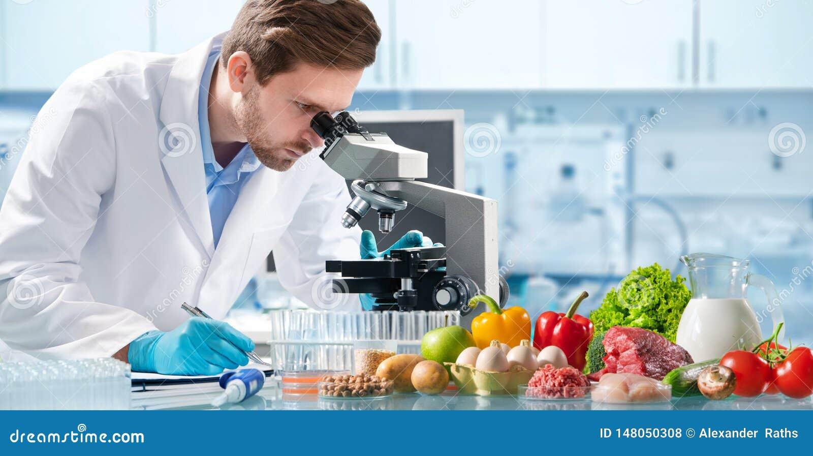 Het concept van de voedselkwaliteitcontrole