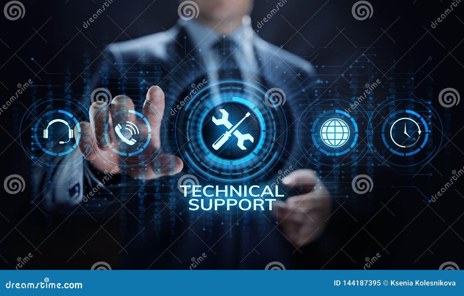 Het concept van de de waarborgkwaliteitsborging van de technische ondersteuningklantenservice