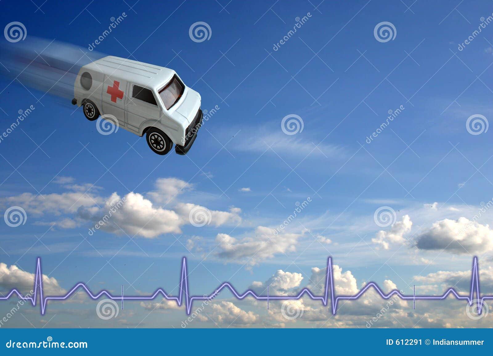 Het concept van de ziekenwagen