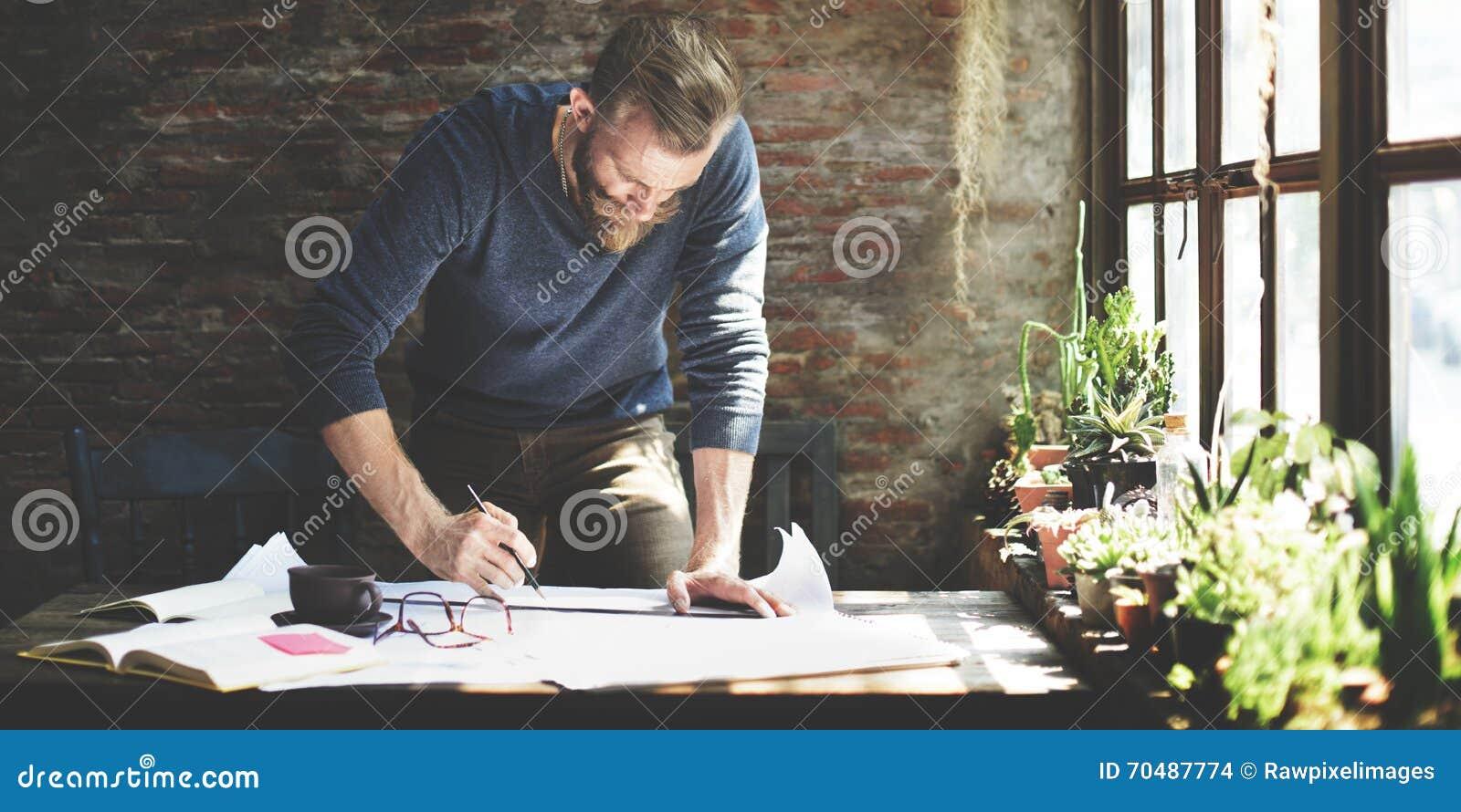 Het Concept van Design Working Planning van de architecteningenieur