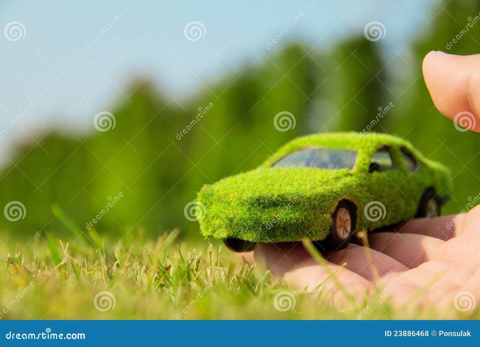 Het concept van het de autopictogram van Eco
