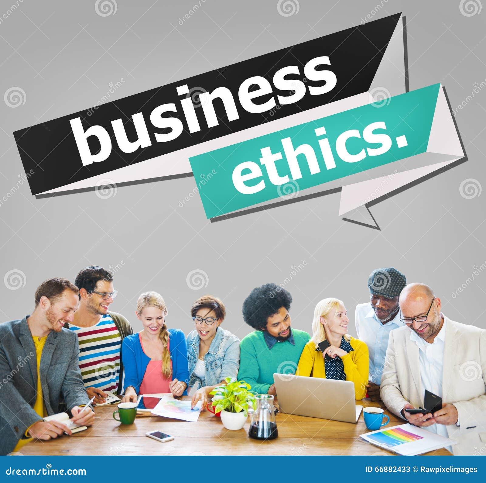 Het Concept van het de Eerlijkheidsvertrouwen van de bedrijfsethiekintegriteit