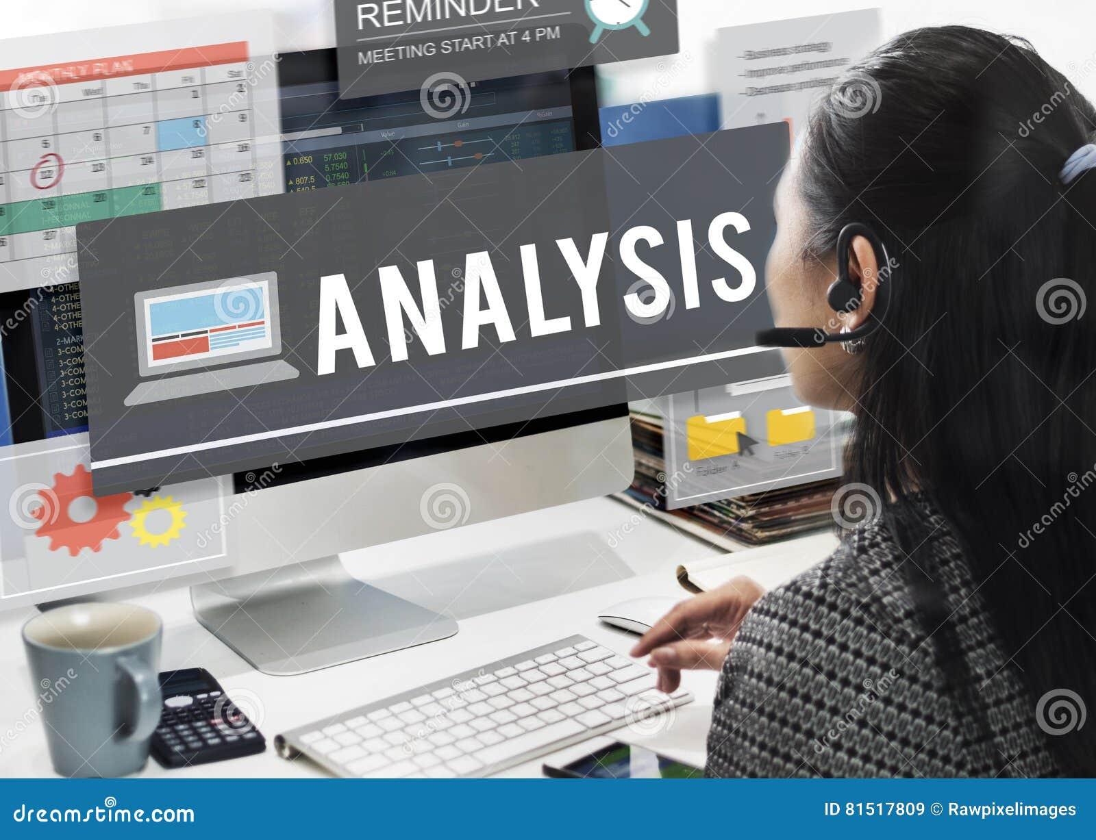 Het Concept van het de Informatieinzicht van de analysedatacommunicatie