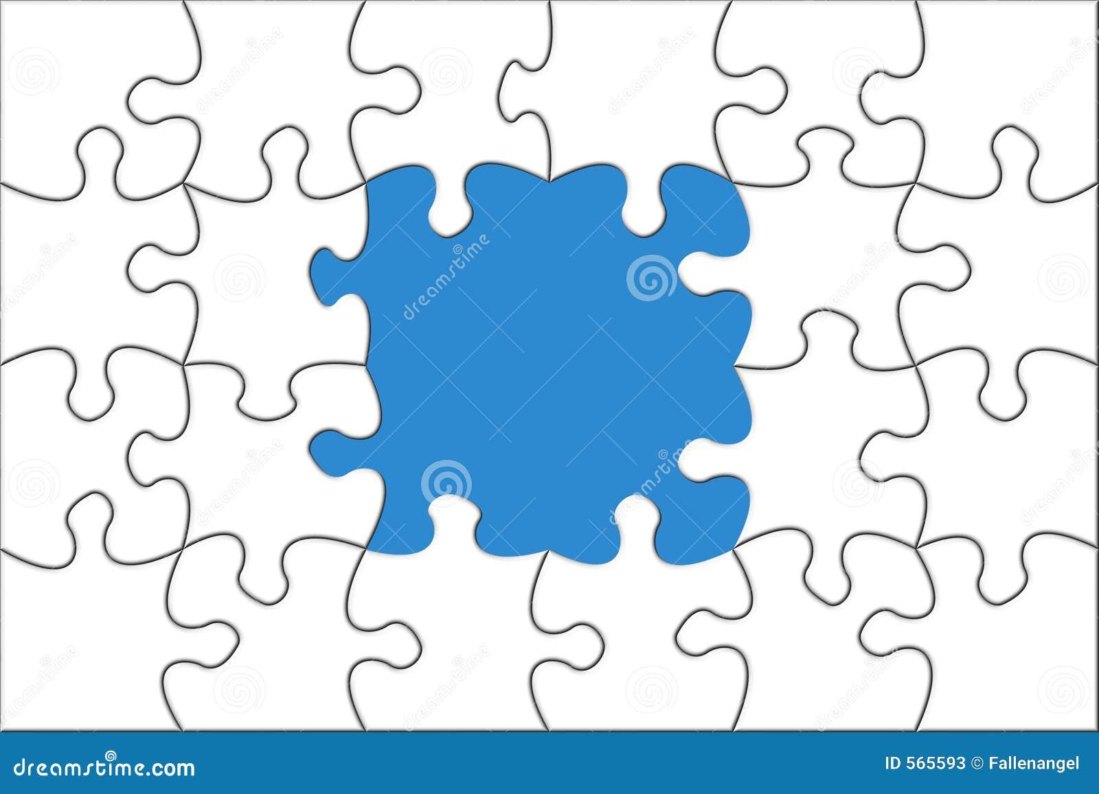 Het concept van het raadsel