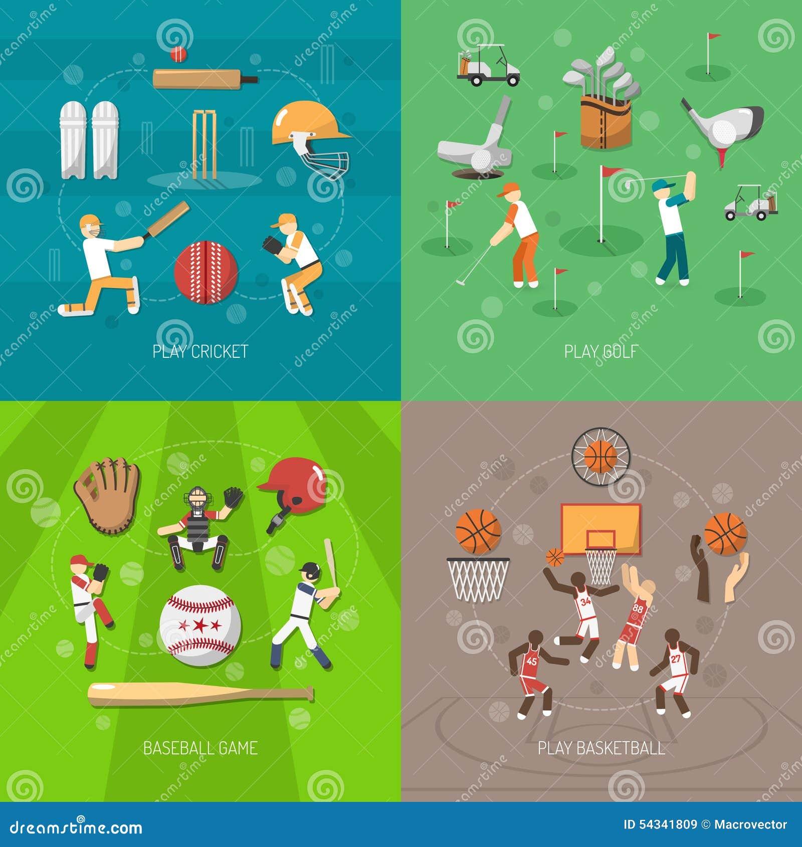 Het Concept van het sportontwerp