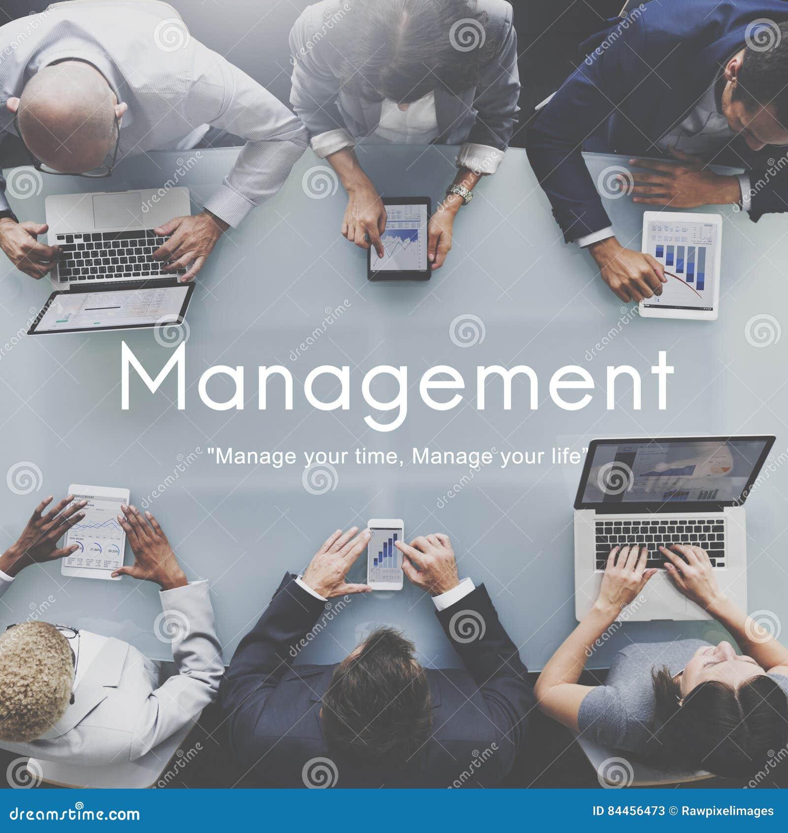 Het Concept van het van de bedrijfs beheersorganisatie Strategieproces