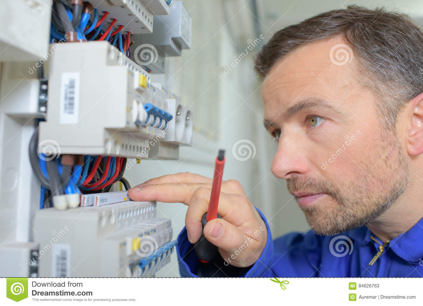 Het controleren van fusebox het werken