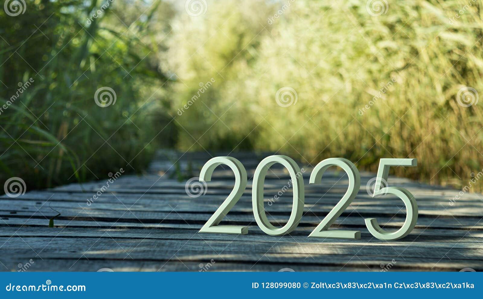 Het 3d teruggeven van 2025