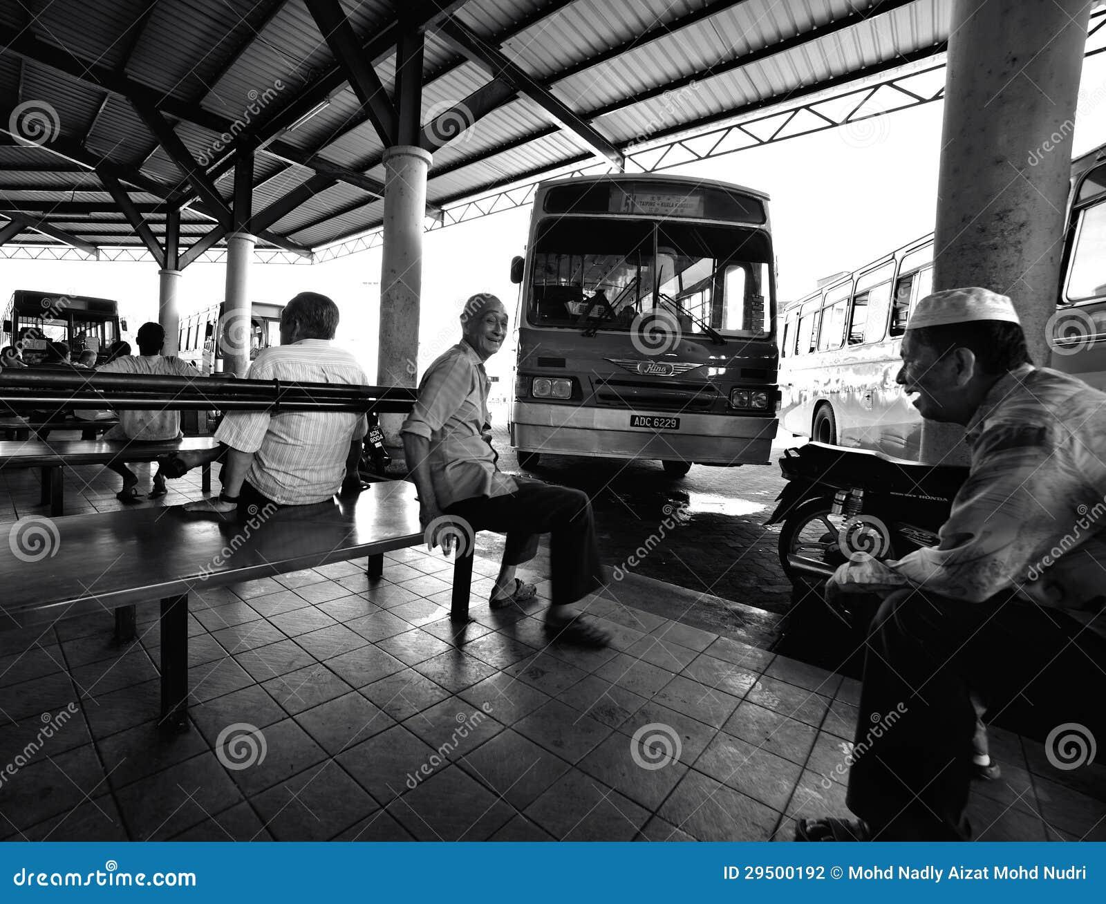Het dagelijkse Leven: Busstation