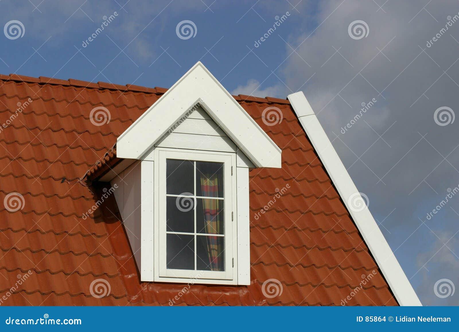 Het dak van het huis