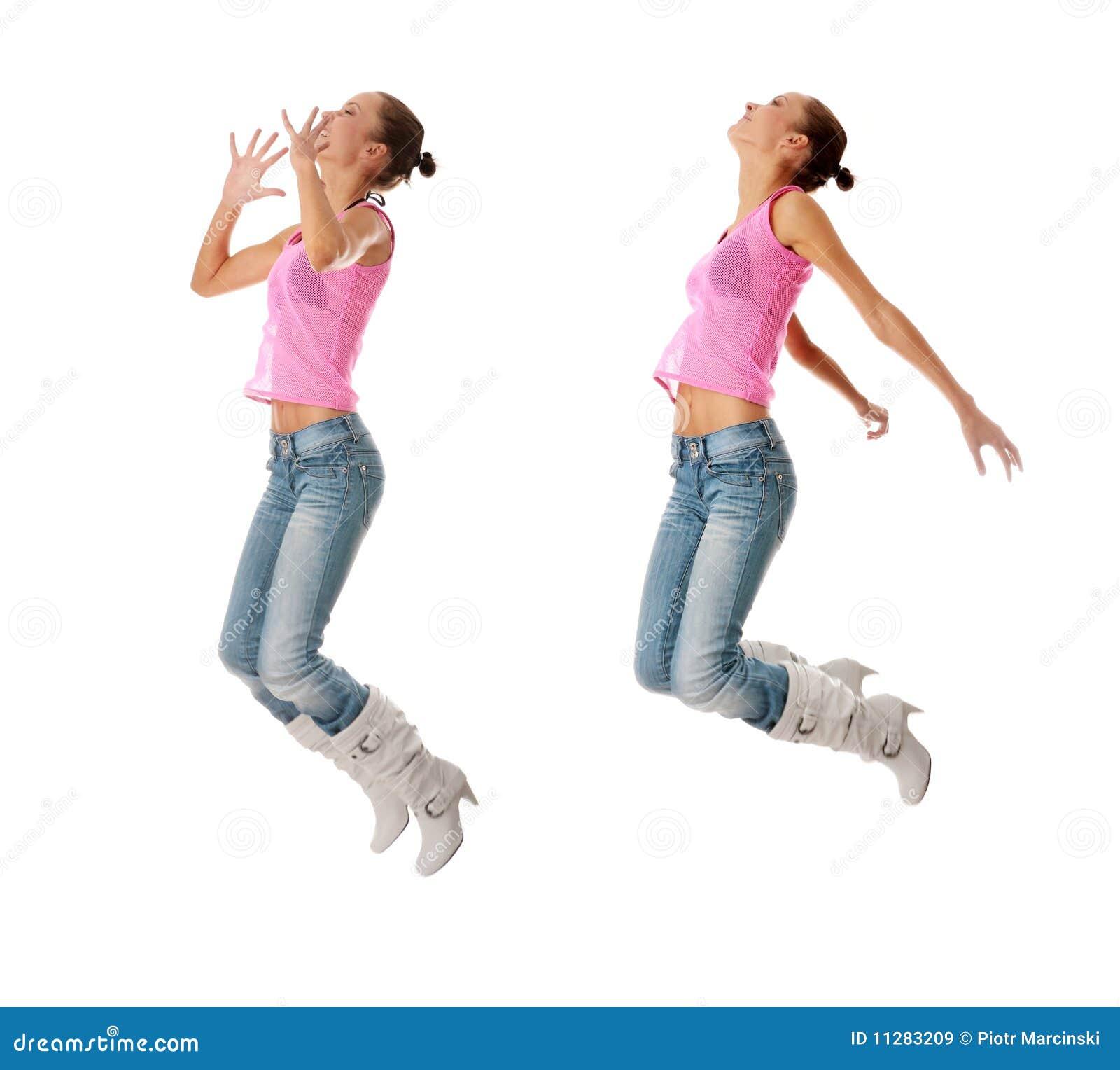 Het dansen van de tiener stock afbeelding afbeelding bestaande uit aerobics 11283209 - Het versieren van de tiener kamer ...