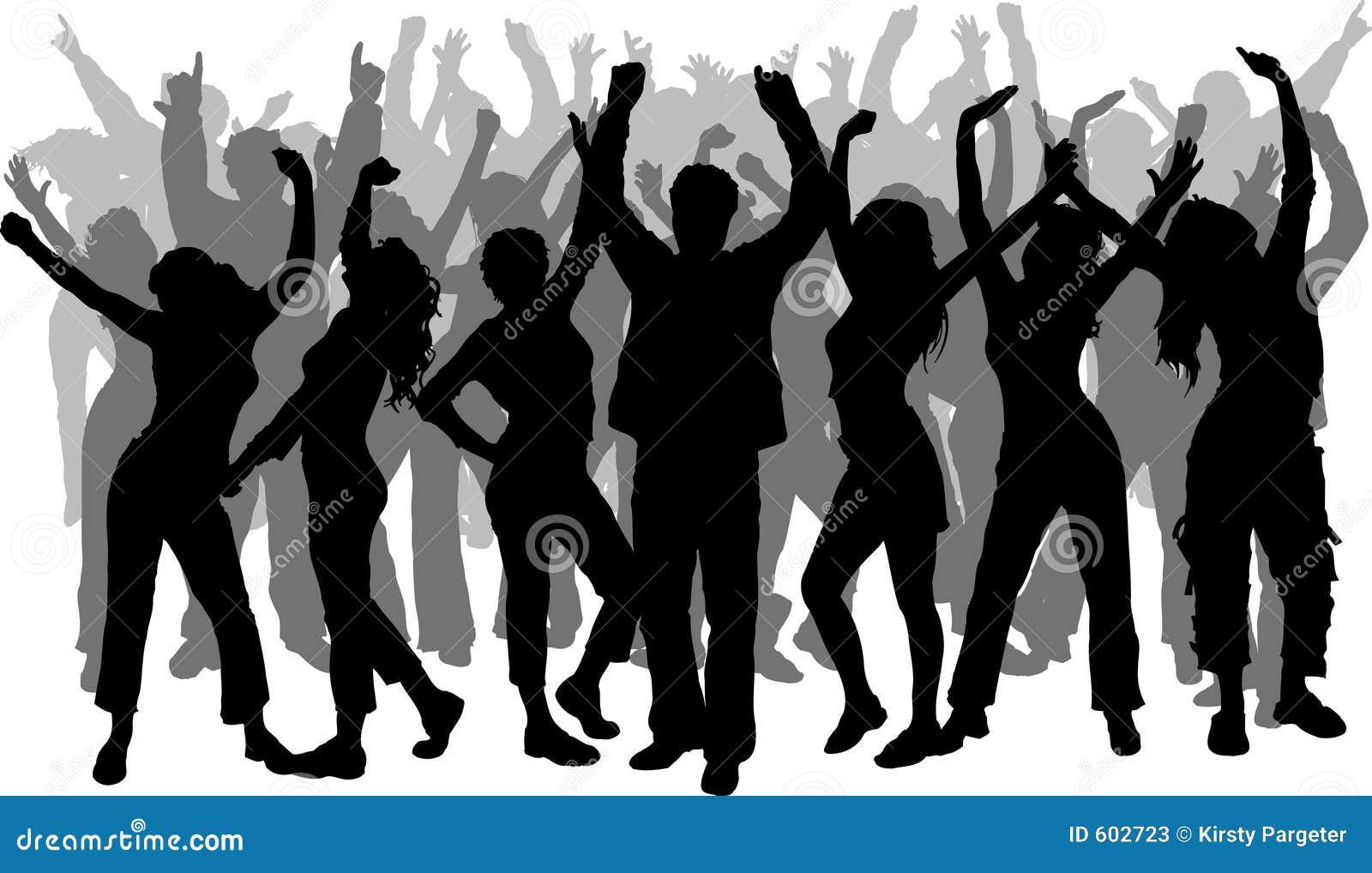 Het dansen van mensen