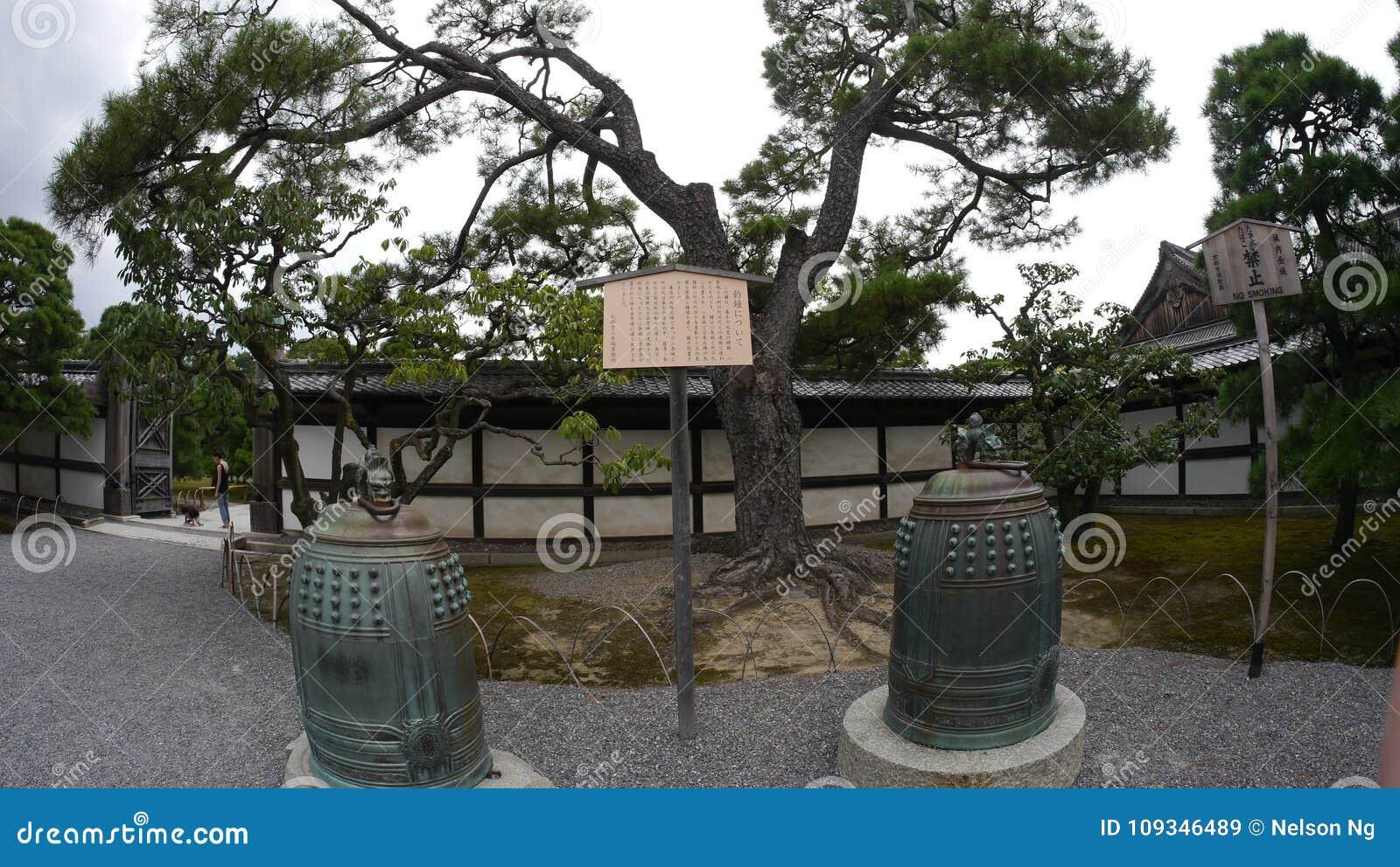Het de oude historische tempel & paviljoen van Japan