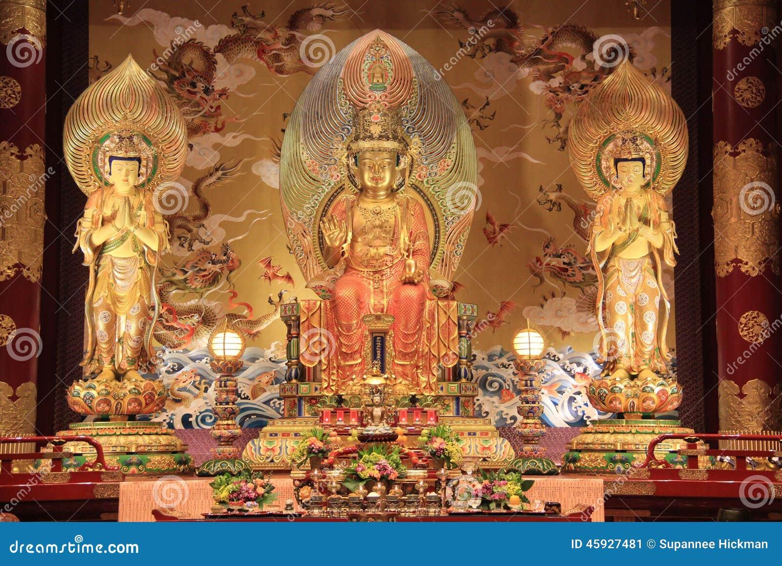 Het de van het de Tandoverblijfsel van Boedha Tempel en Museum, op Tang-dyna wordt gebaseerd die