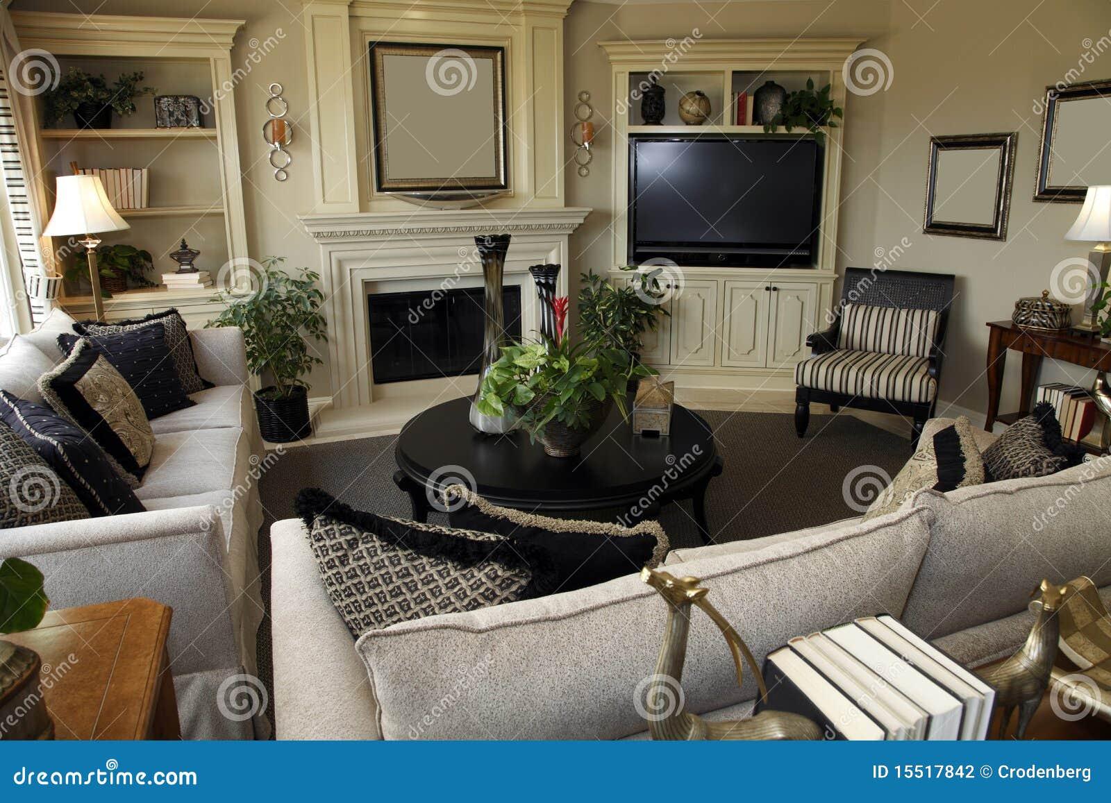 Het decor van de woonkamer stock foto. Afbeelding bestaande uit ...