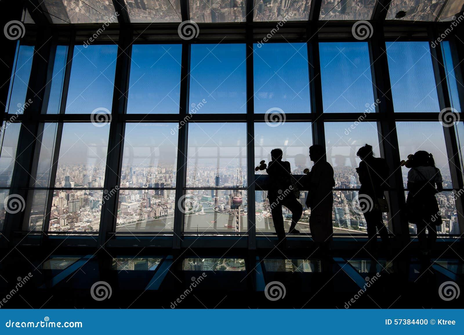 Het Dek van de Observatie SWFC, Shanghai