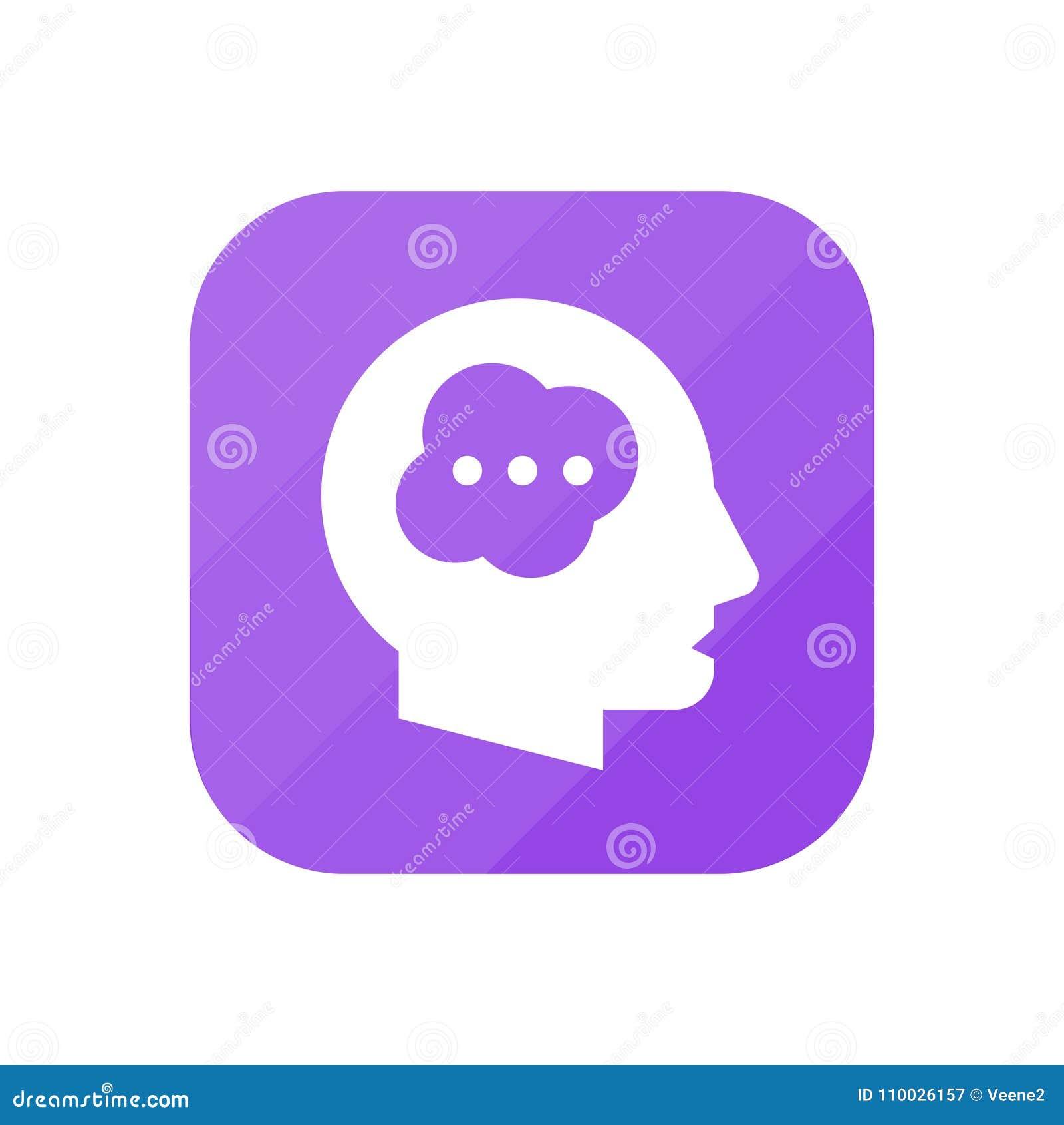 Het denken - App Pictogram