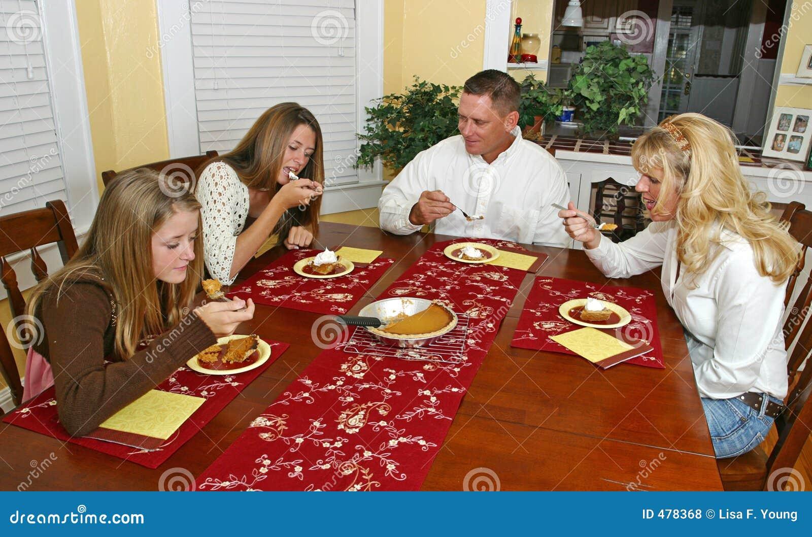 Het Dessert van de Familie van de vakantie