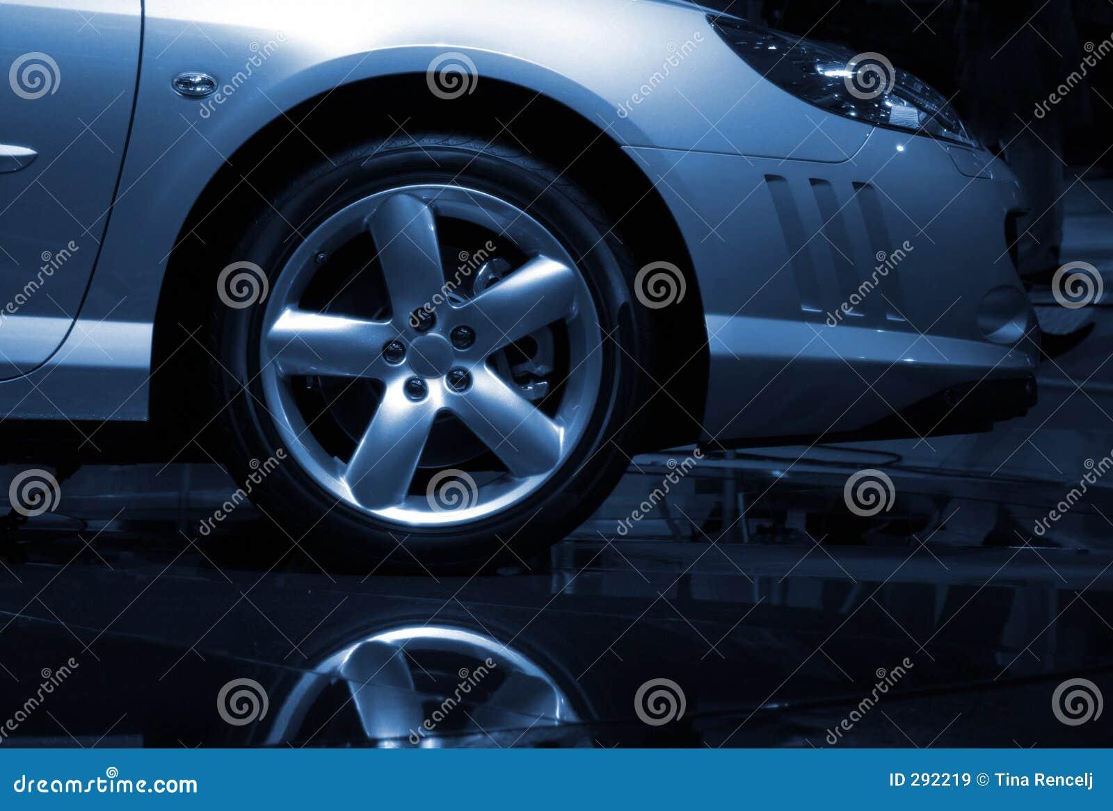 Het Detail van de Presentatie van de auto