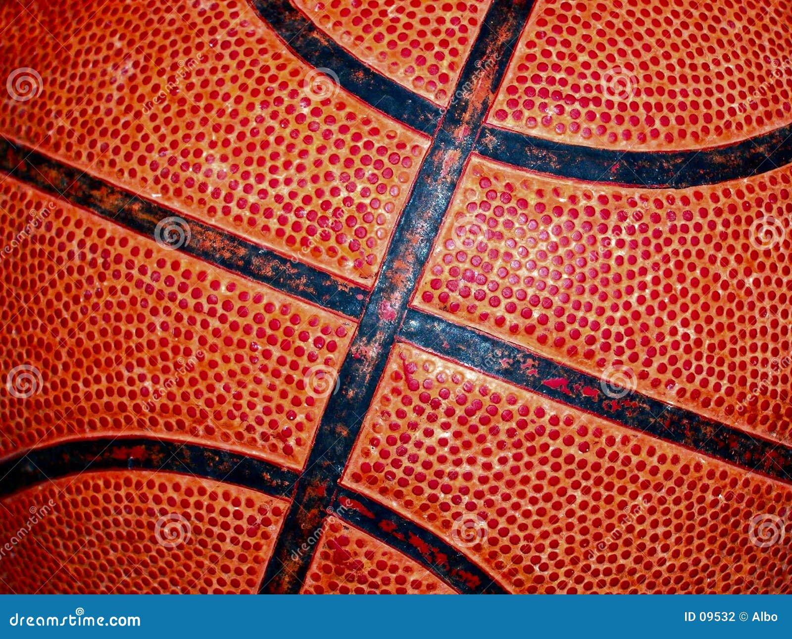 Het detail van het basketbal