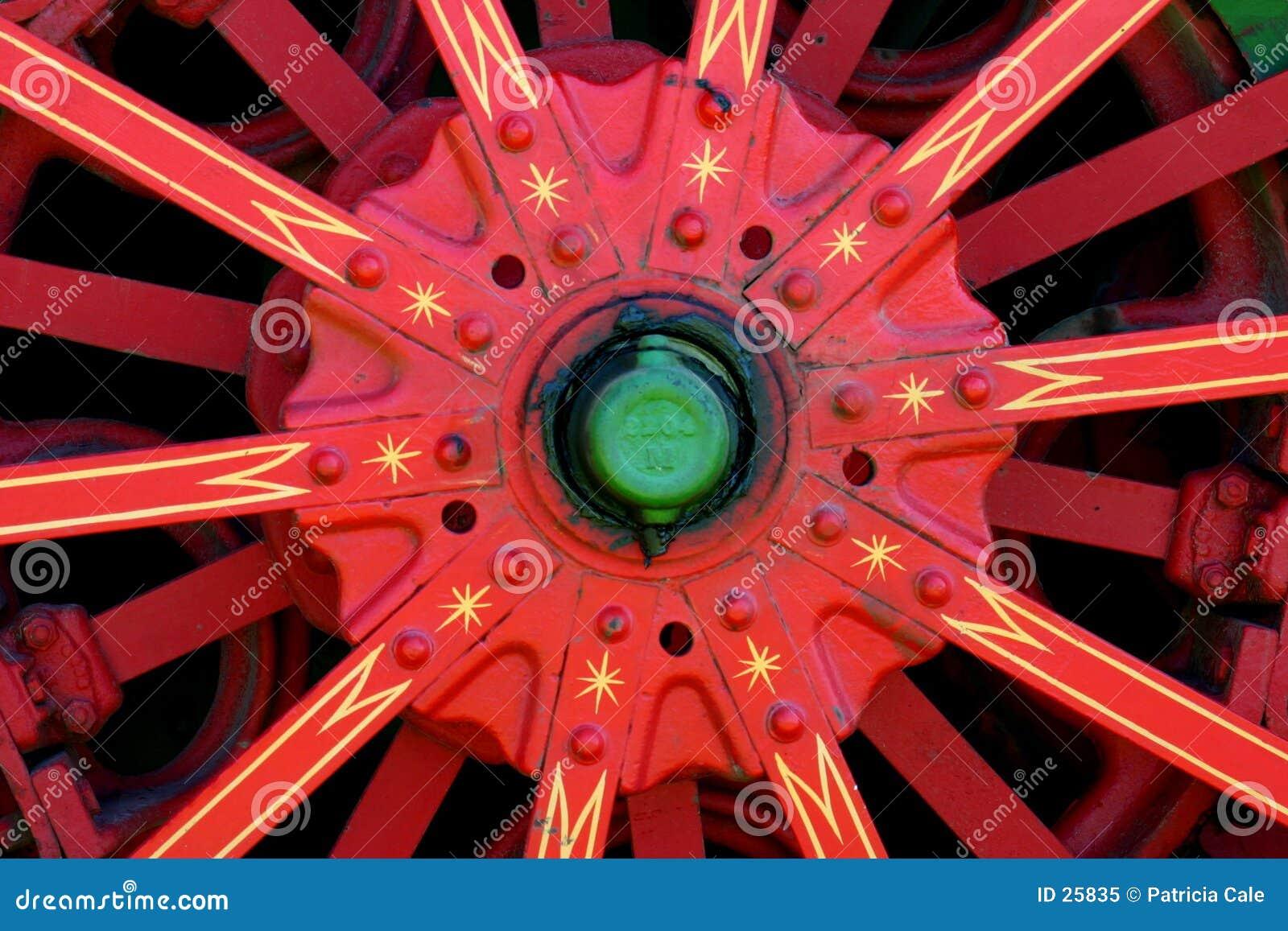 Het Detail van het wiel