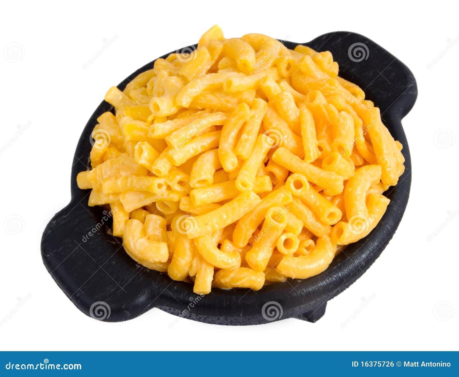 Het diner van de macaroni en van de kaas