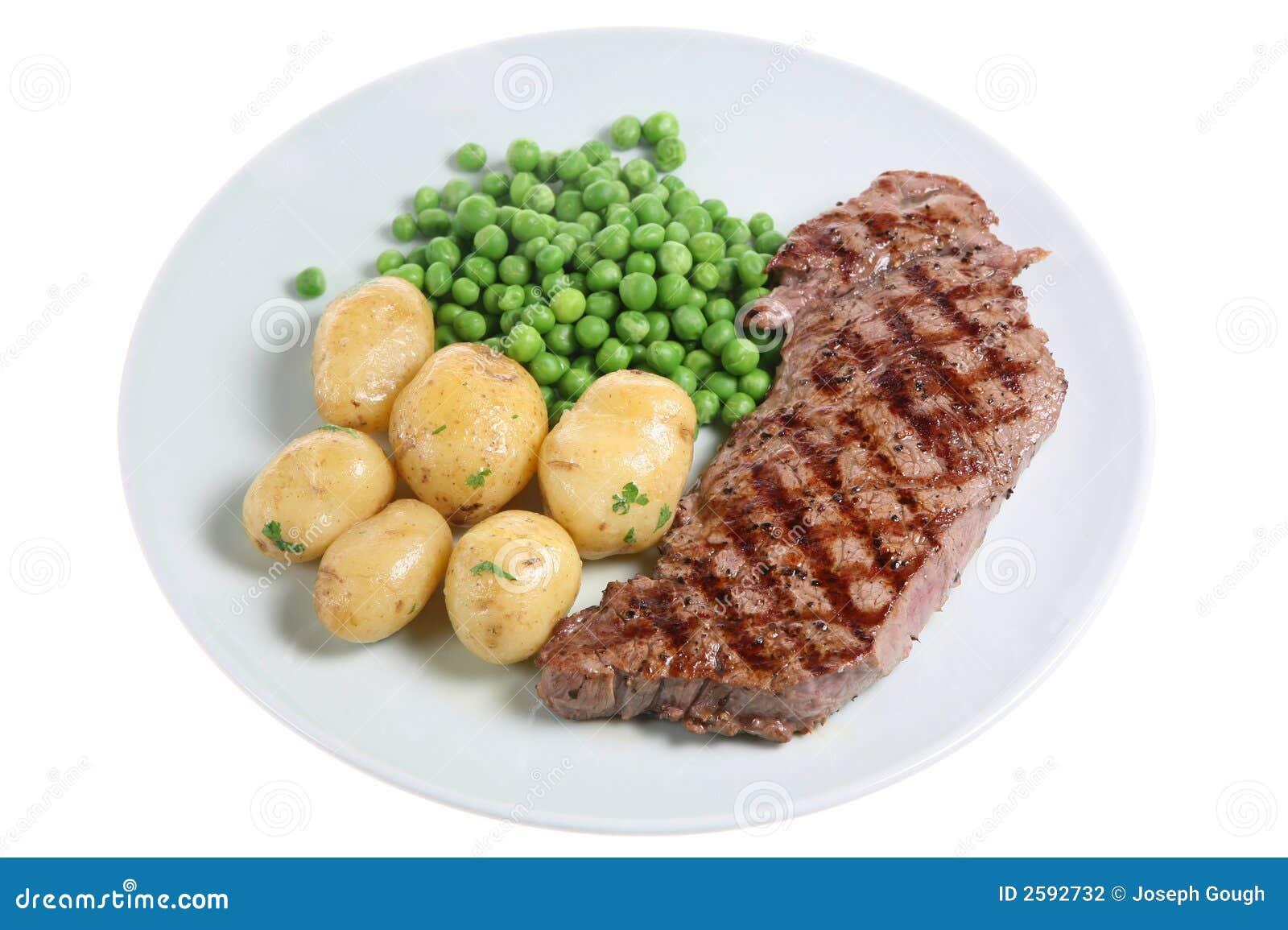 Het Diner van het lapje vlees