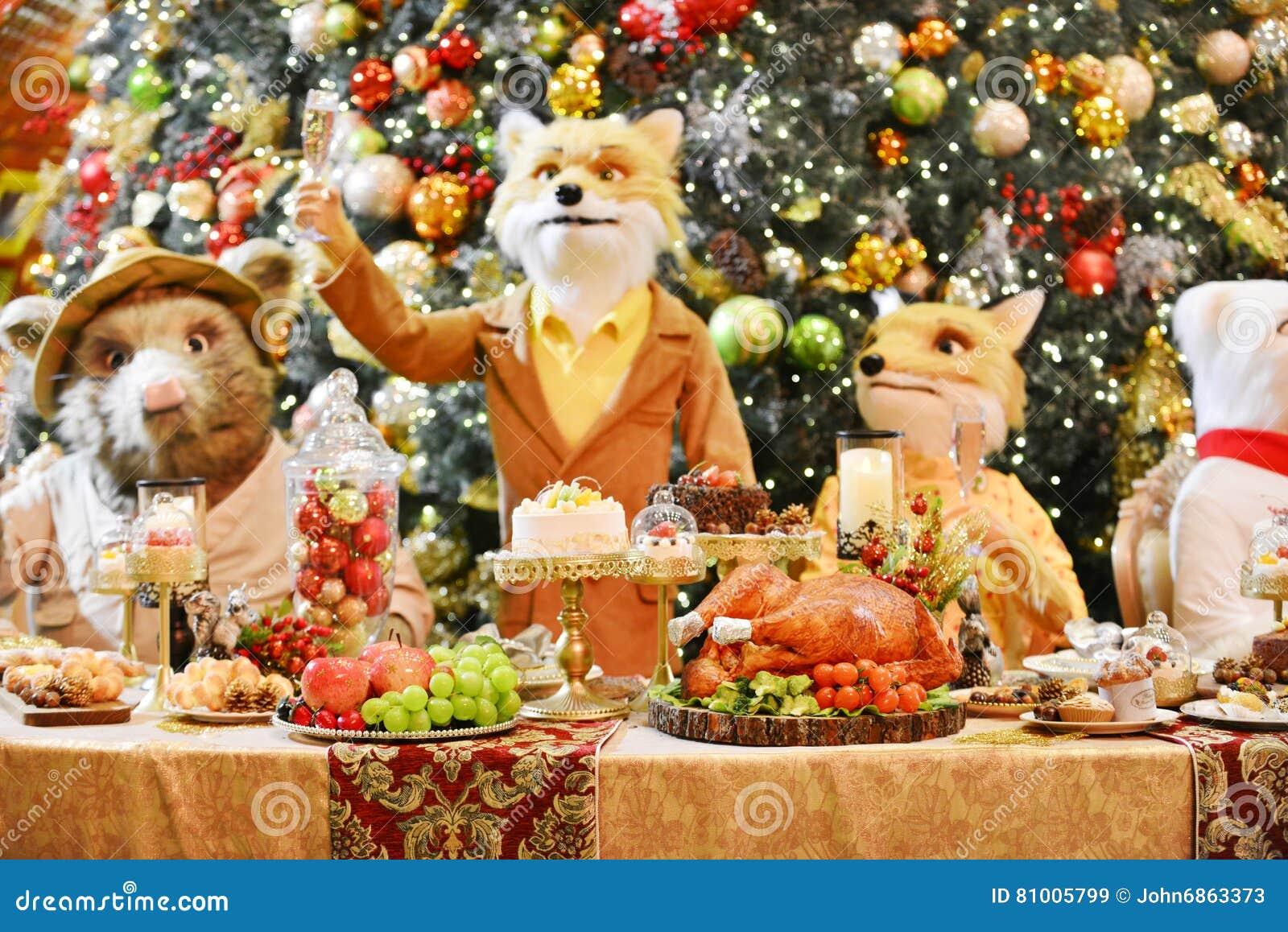 Het diner van Kerstmis