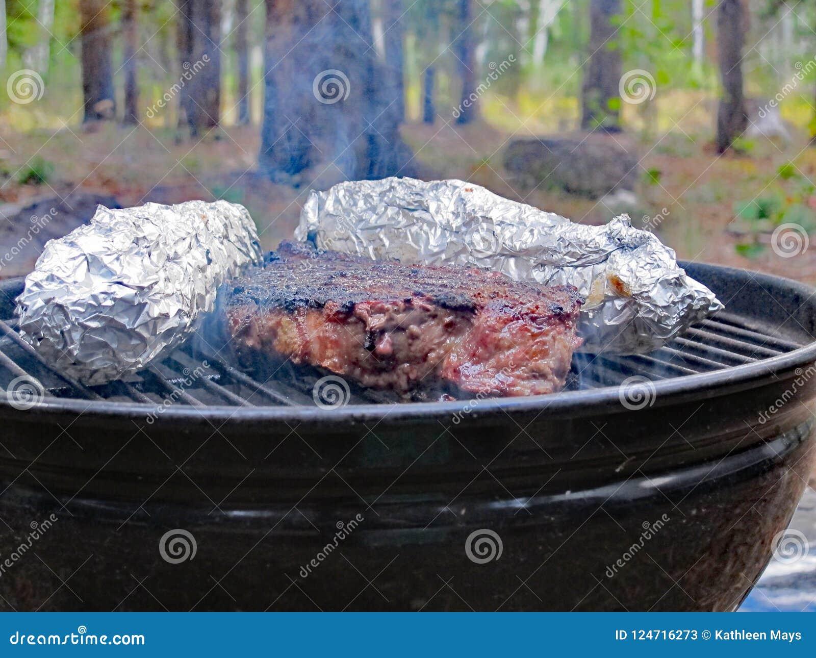 Het diner van het rundvleeslapje vlees