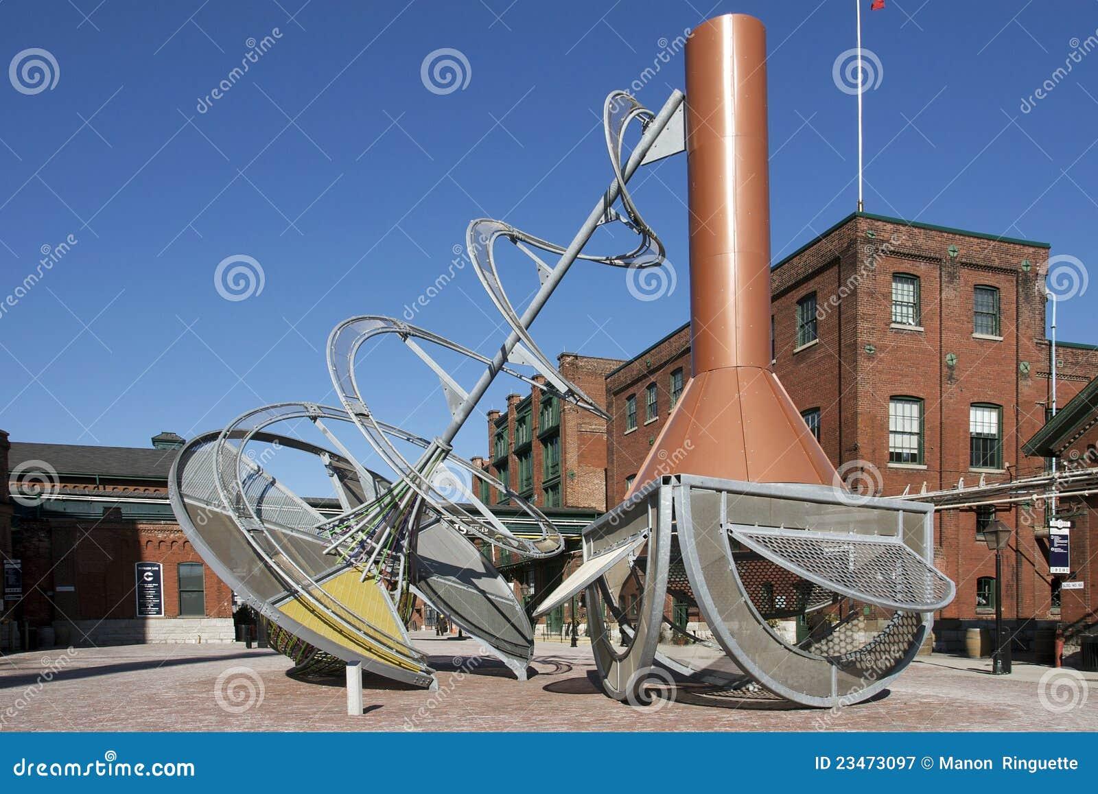 Het District van de distilleerderij - Toronto, Canada
