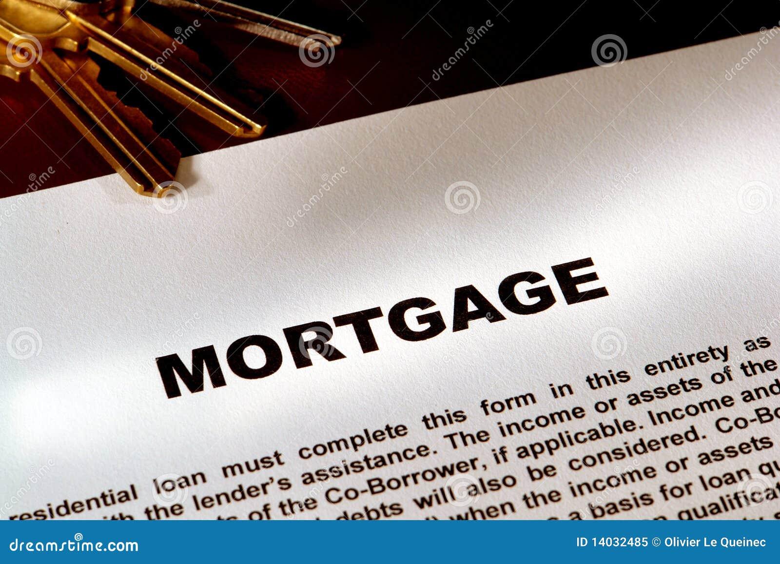 Het Document en de Sleutels van de hypotheek