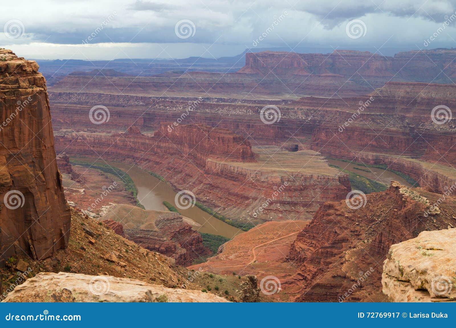 Het Dode Park van de Staat van het Paardpunt, Utah