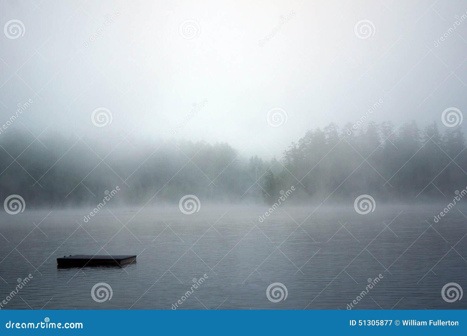 Het dok verdwijnt in de Mist